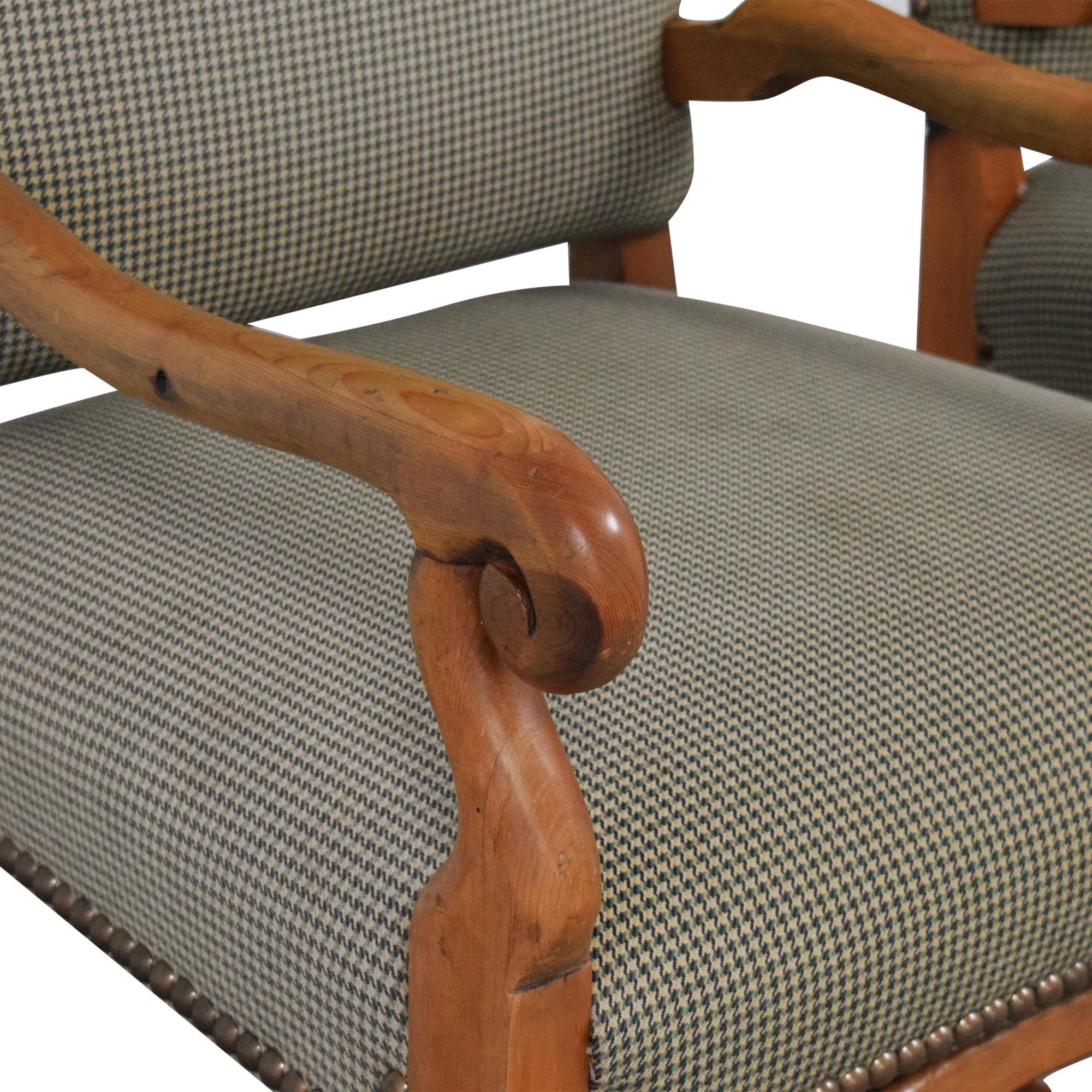 Ralph Lauren Home Ralph Lauren Home Os De Mouton Style Arm Chairs