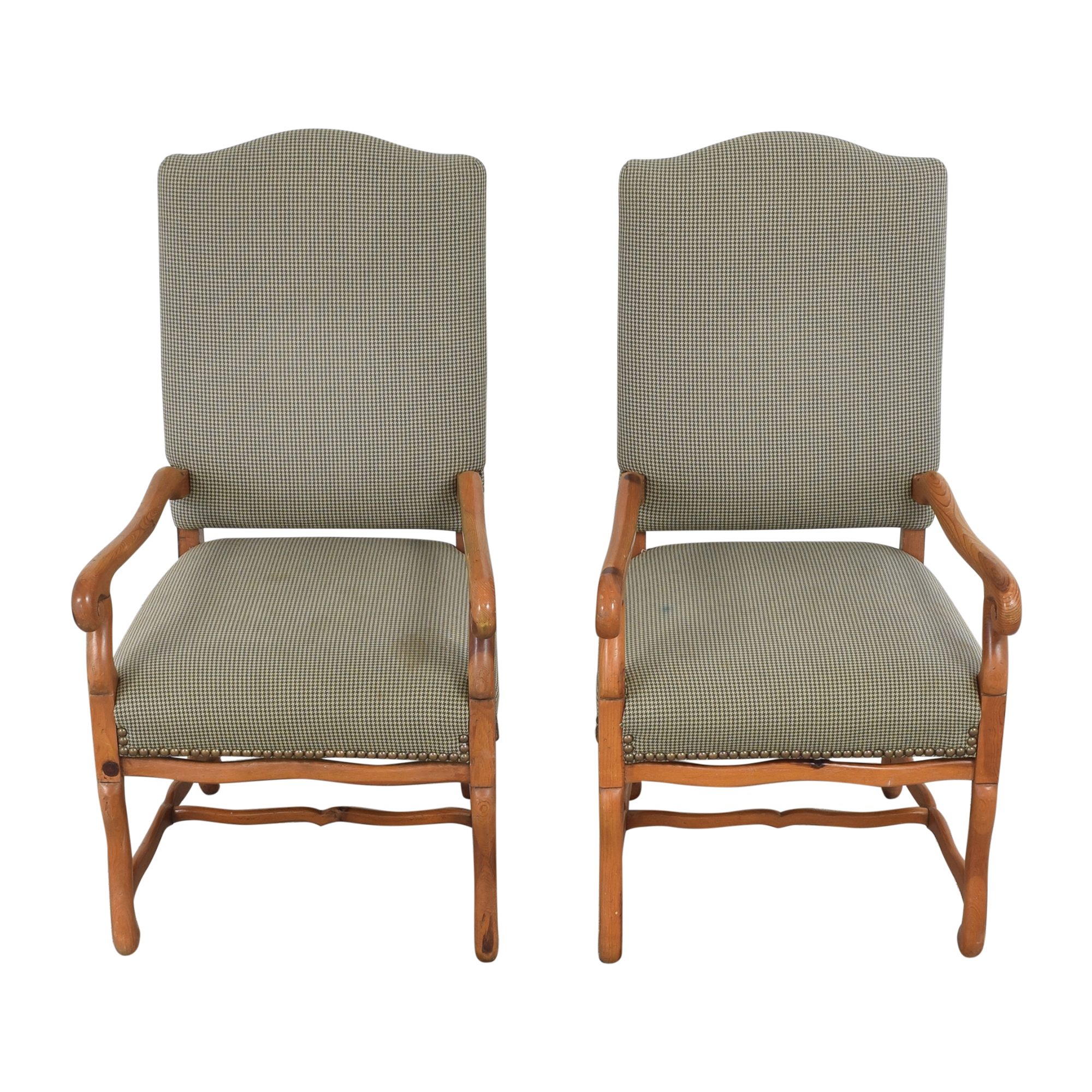Ralph Lauren Home Ralph Lauren Home Os De Mouton Style Arm Chairs  Chairs
