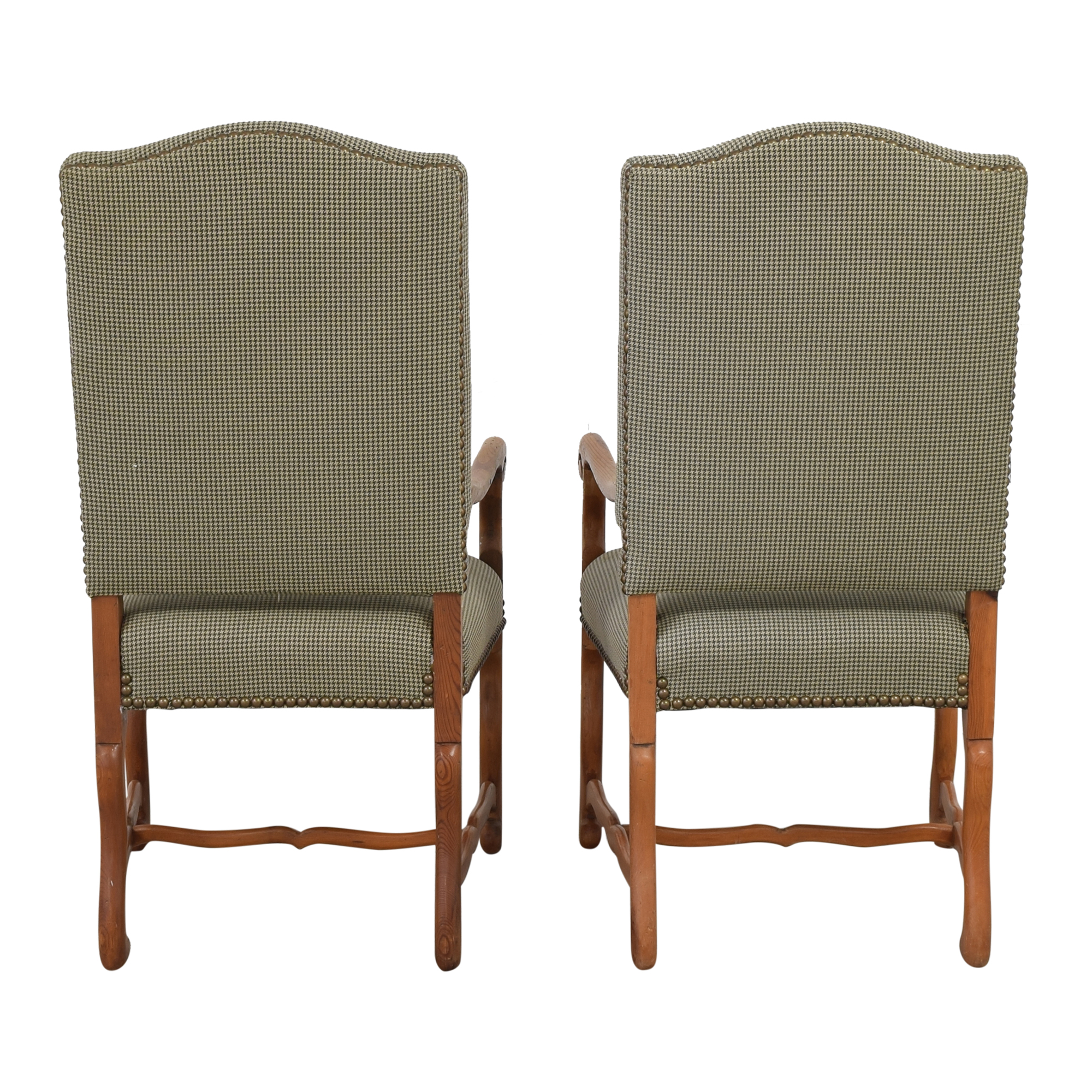 Ralph Lauren Home Ralph Lauren Home Os De Mouton Style Arm Chairs  Dining Chairs