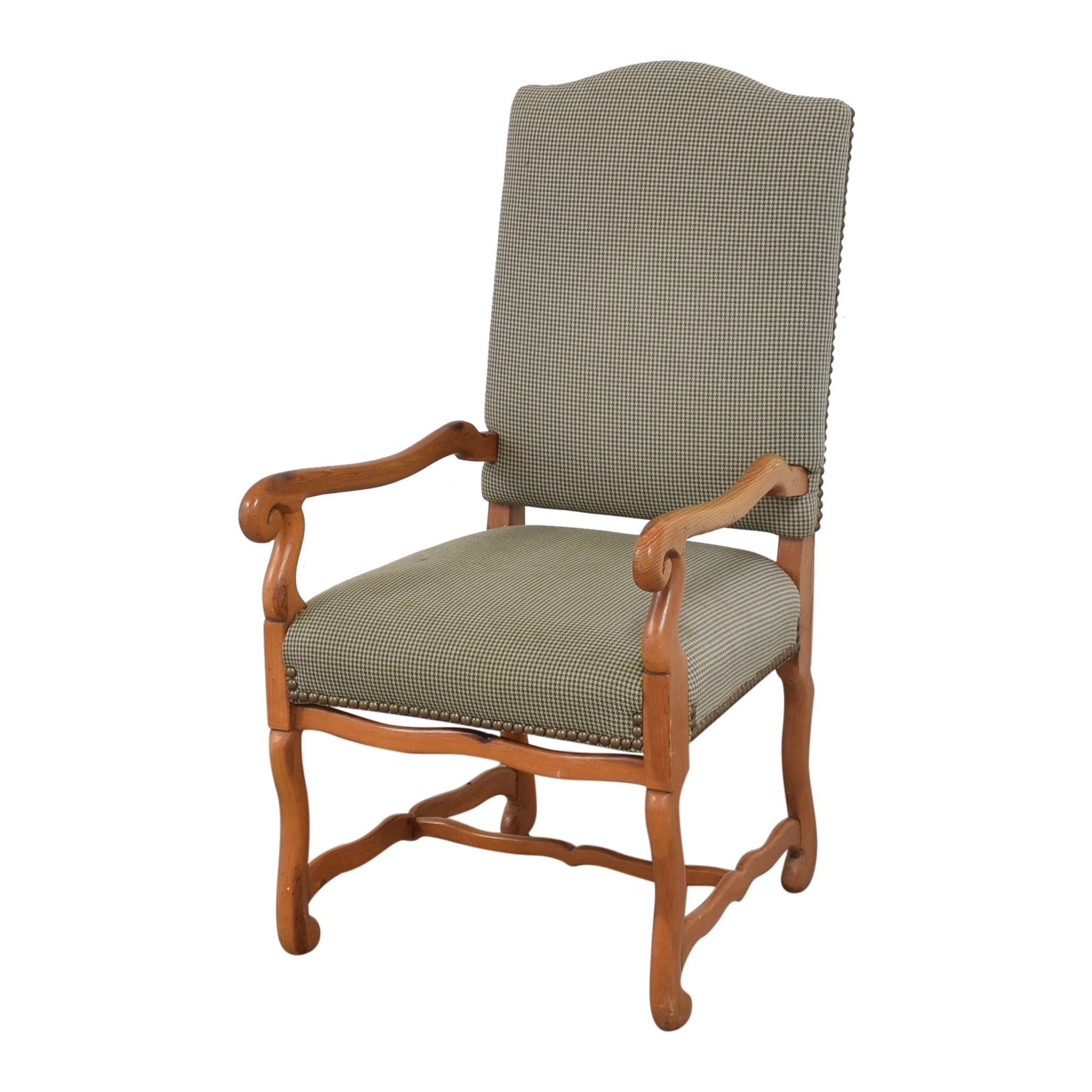 Ralph Lauren Home Ralph Lauren Home Os De Mouton Style Arm Chairs  nyc
