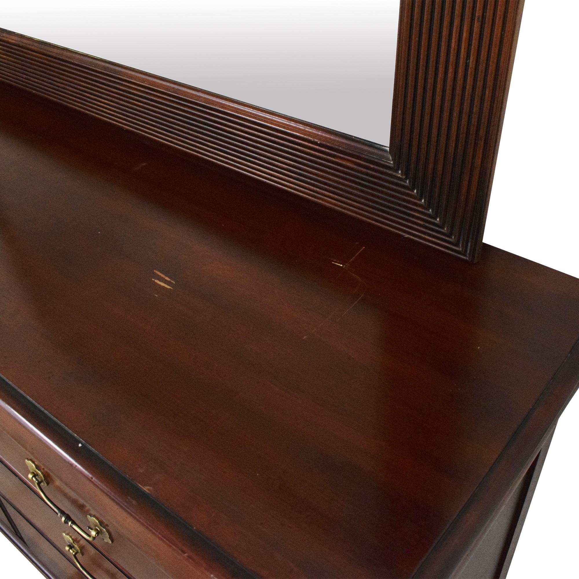 Ethan Allen Ethan Allen British Classics Marques Dresser with Mirror Dressers