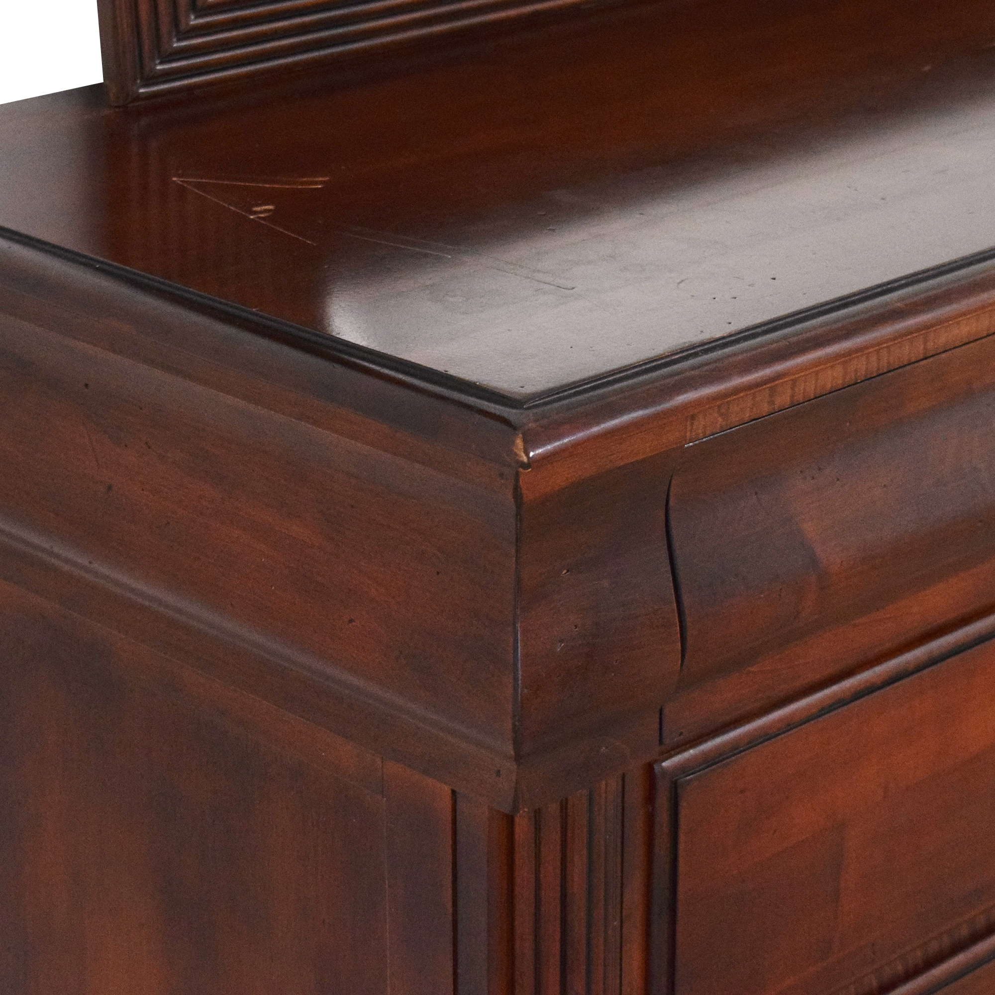 buy Ethan Allen British Classics Marques Dresser with Mirror Ethan Allen Dressers