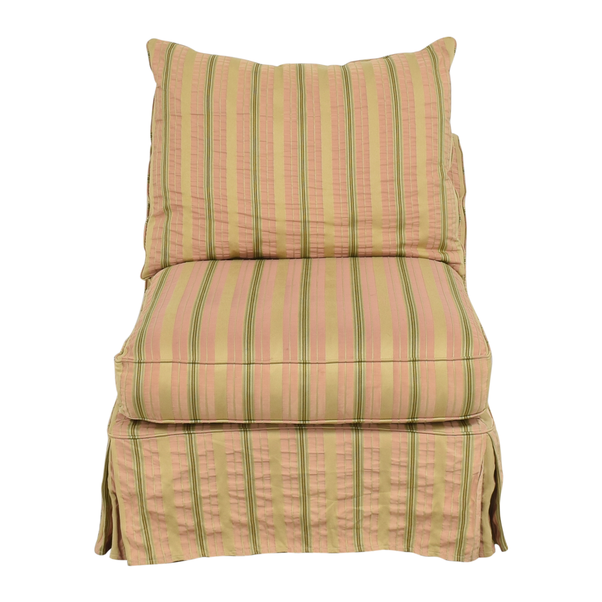 Domain Home Domain Home Slipcovered Slipper Lounge Chair coupon