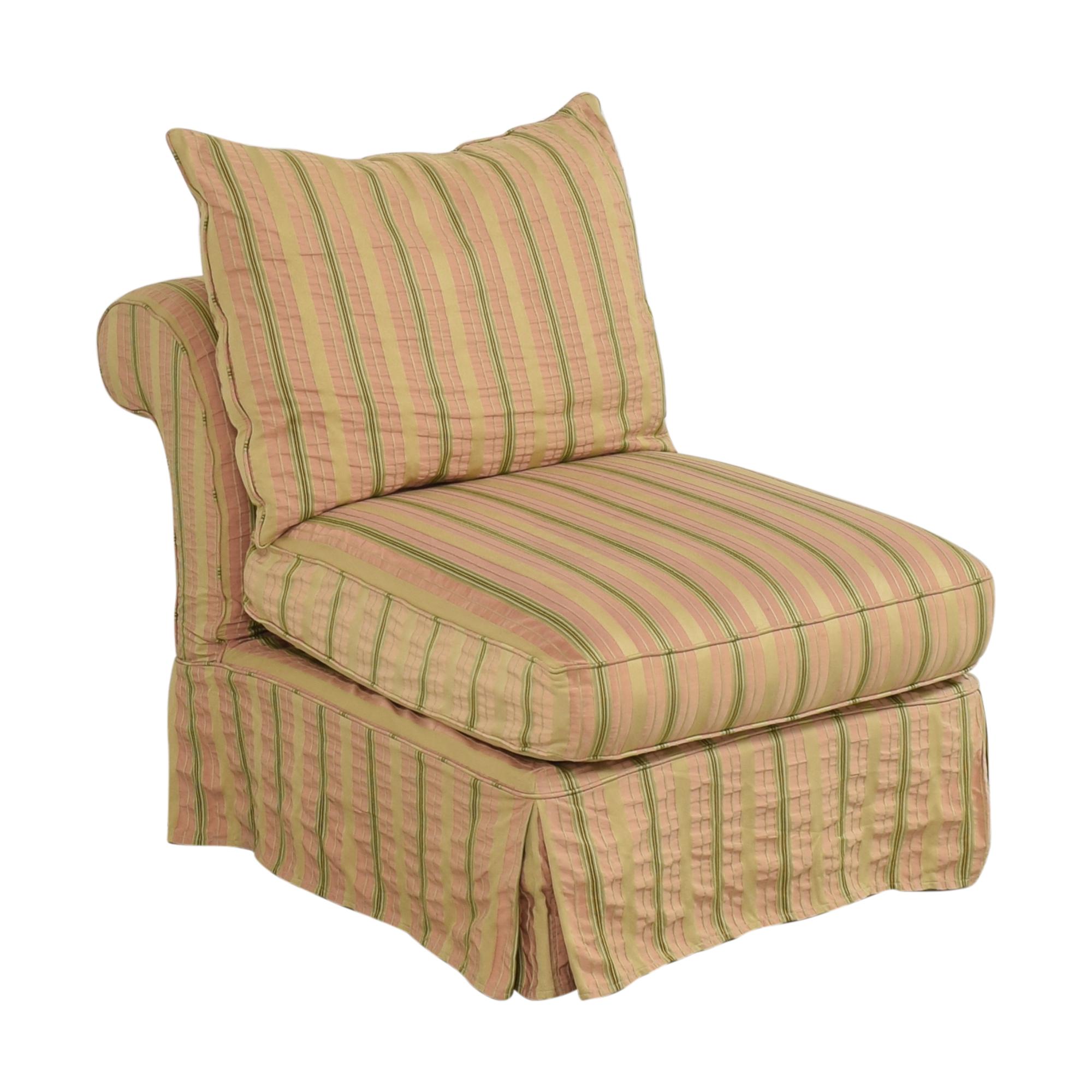 Domain Home Domain Home Slipcovered Slipper Lounge Chair price