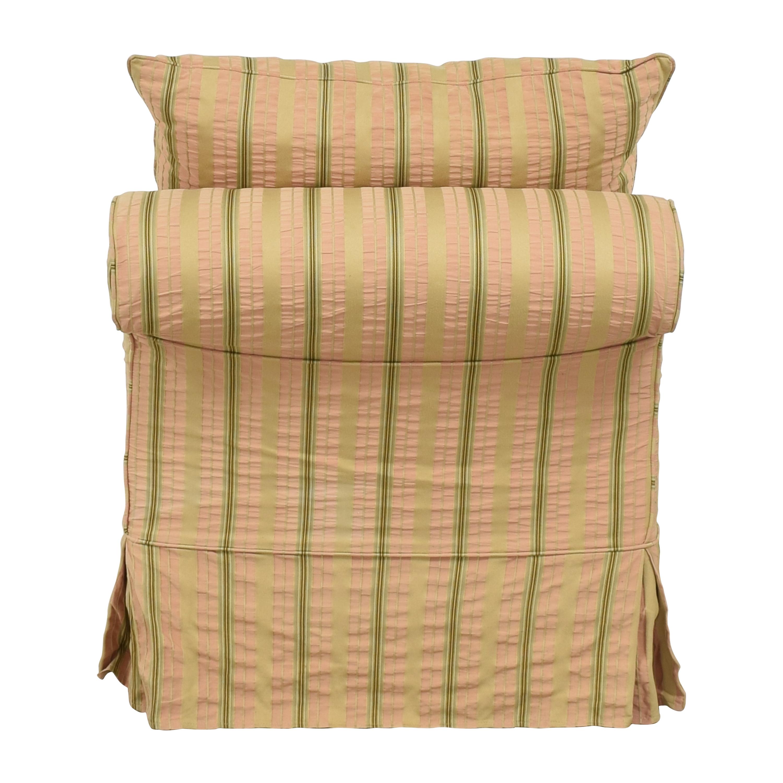 buy Domain Home Slipcovered Slipper Lounge Chair Domain Home