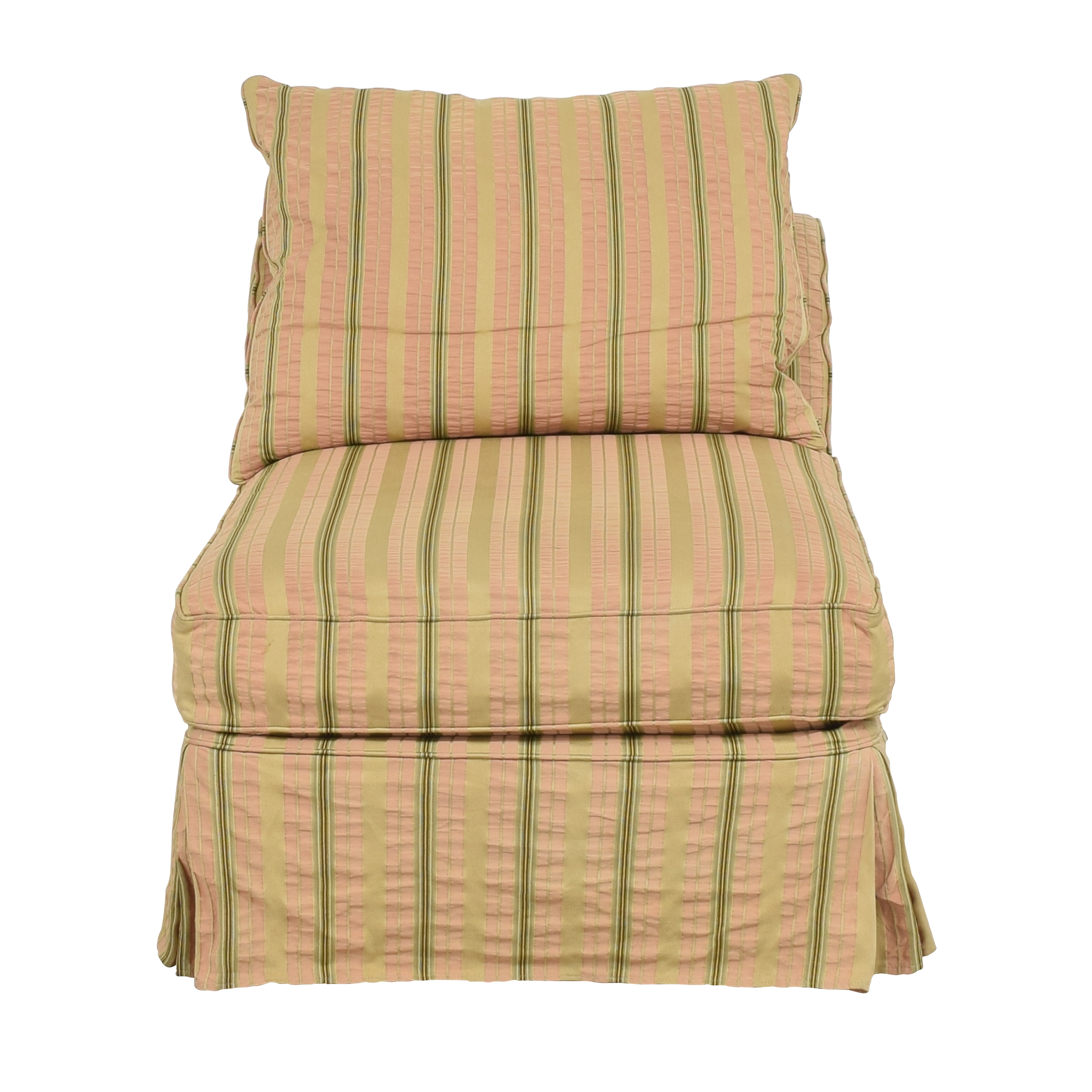 buy Domain Home Slipcovered Slipper Lounge Chair Domain Home Accent Chairs