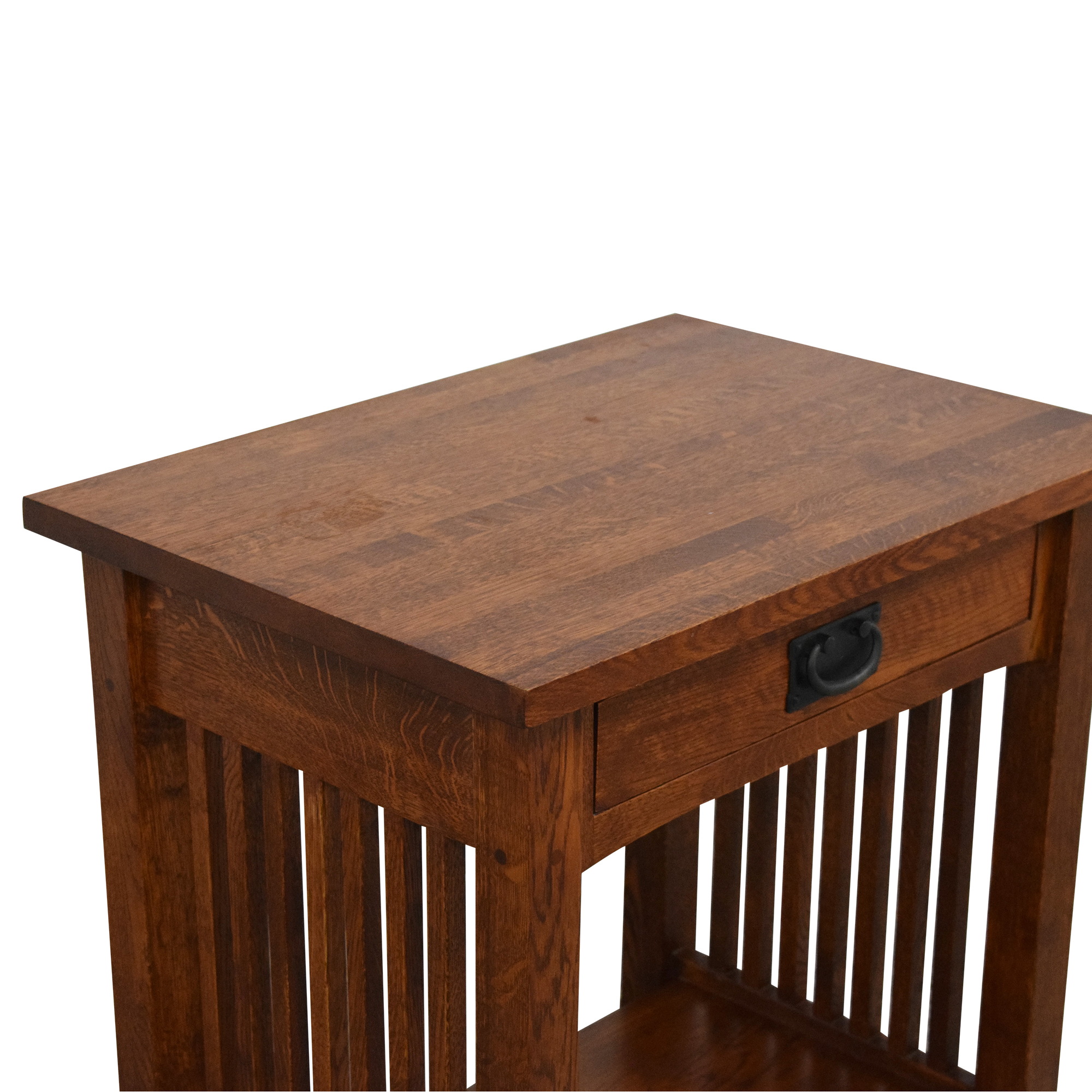 ABC Carpet & Home ABC Carpet & Home Mission-Style Nightstand Tables