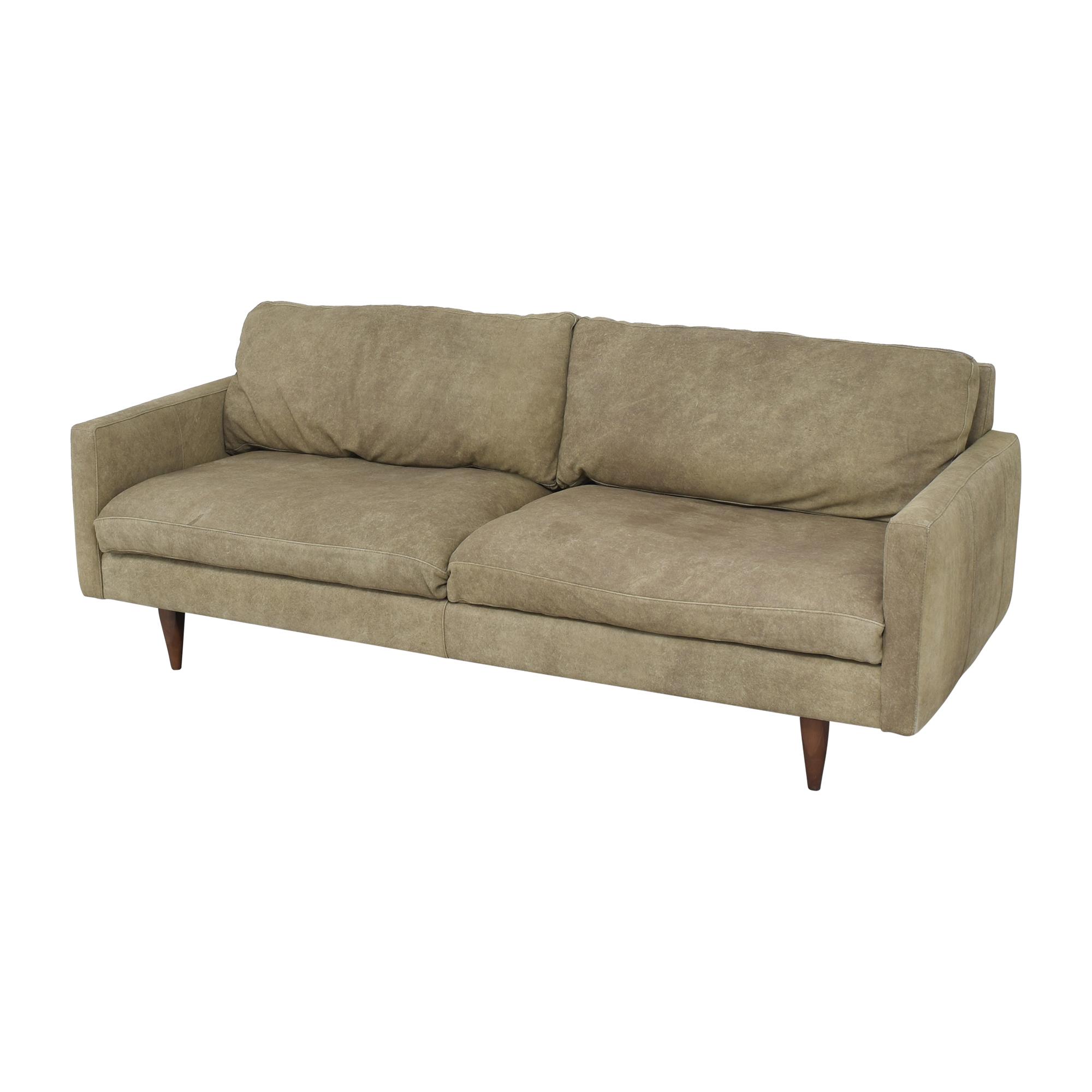 Room & Board Room & Board Jasper Two Cushion Sofa Classic Sofas