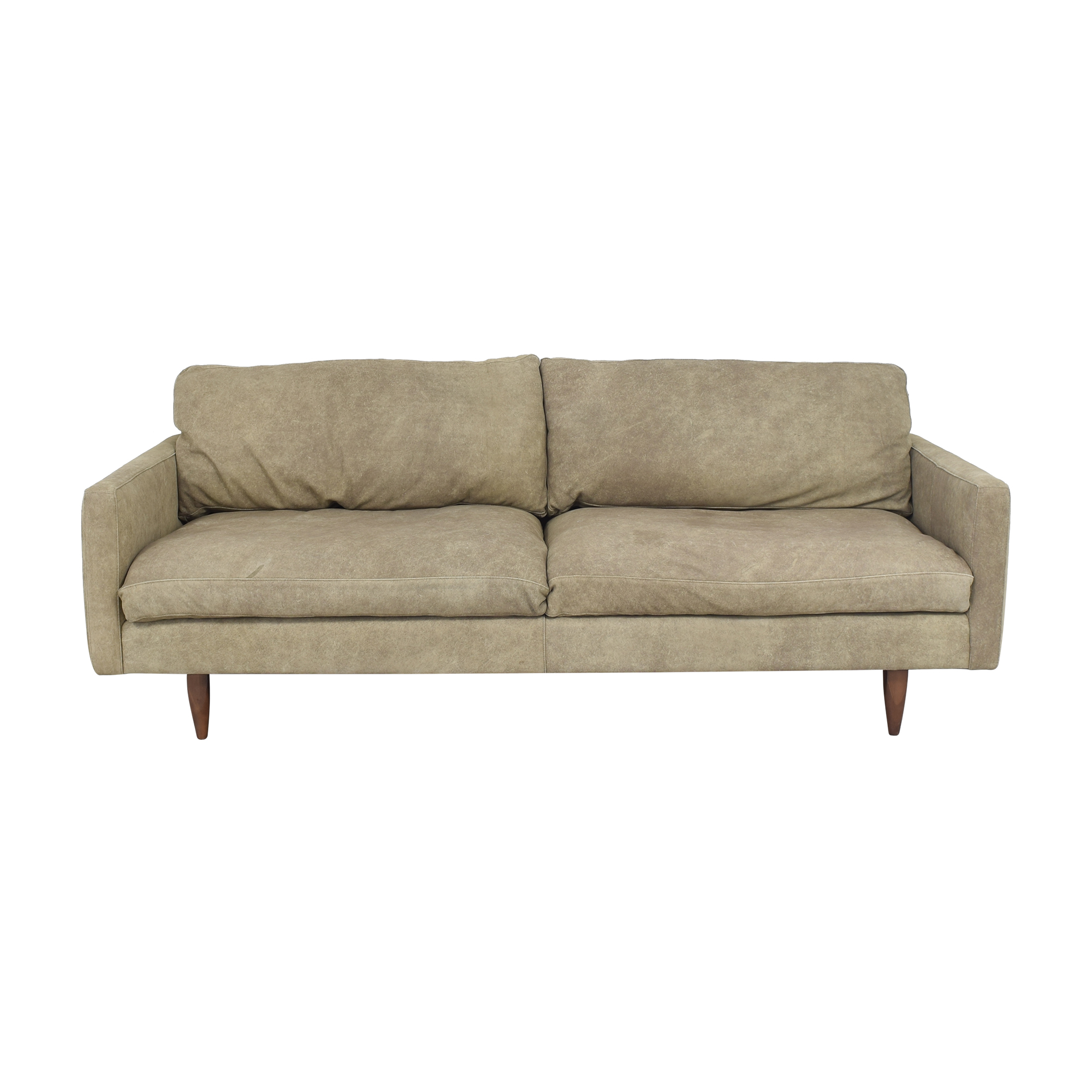 Room & Board Room & Board Jasper Two Cushion Sofa dimensions
