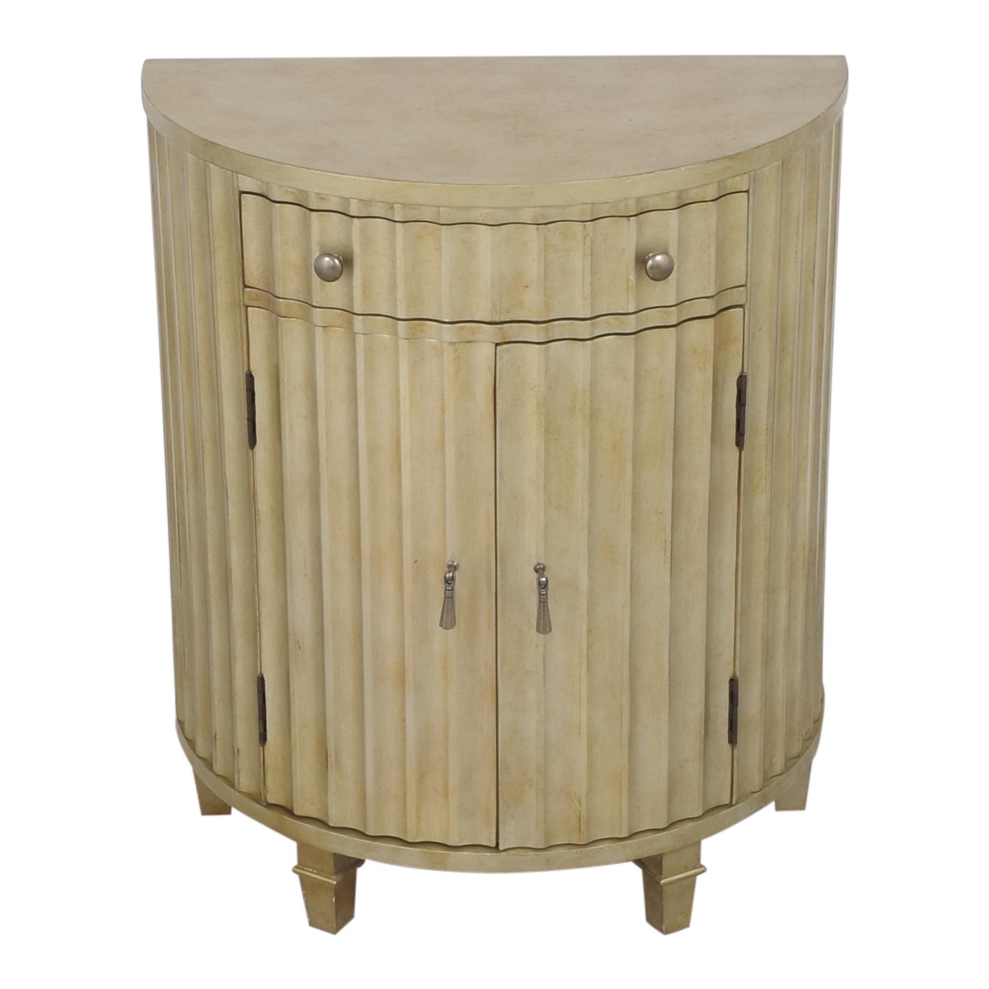 Hooker Furniture Hooker Furniture Melange Fluted Demi Chest second hand