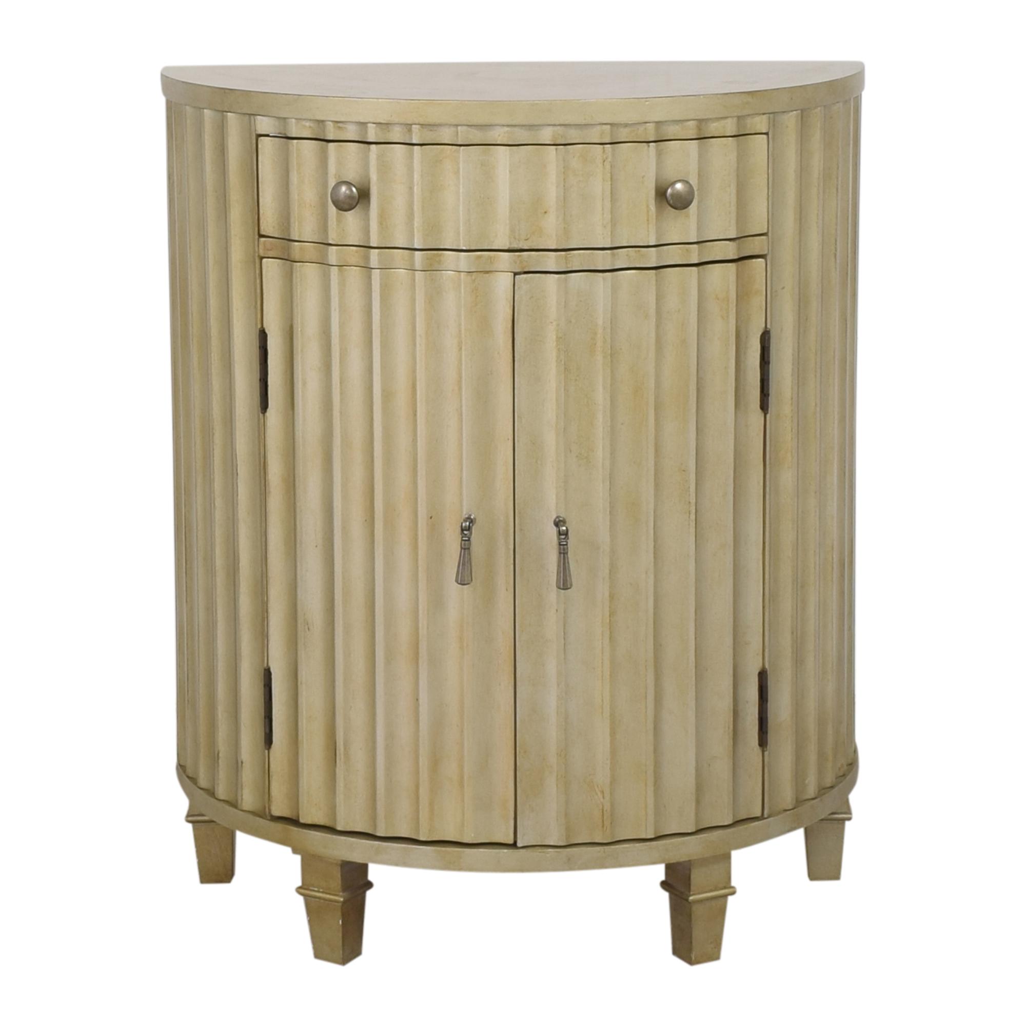 buy Hooker Furniture Melange Fluted Demi Chest Hooker Furniture Cabinets & Sideboards