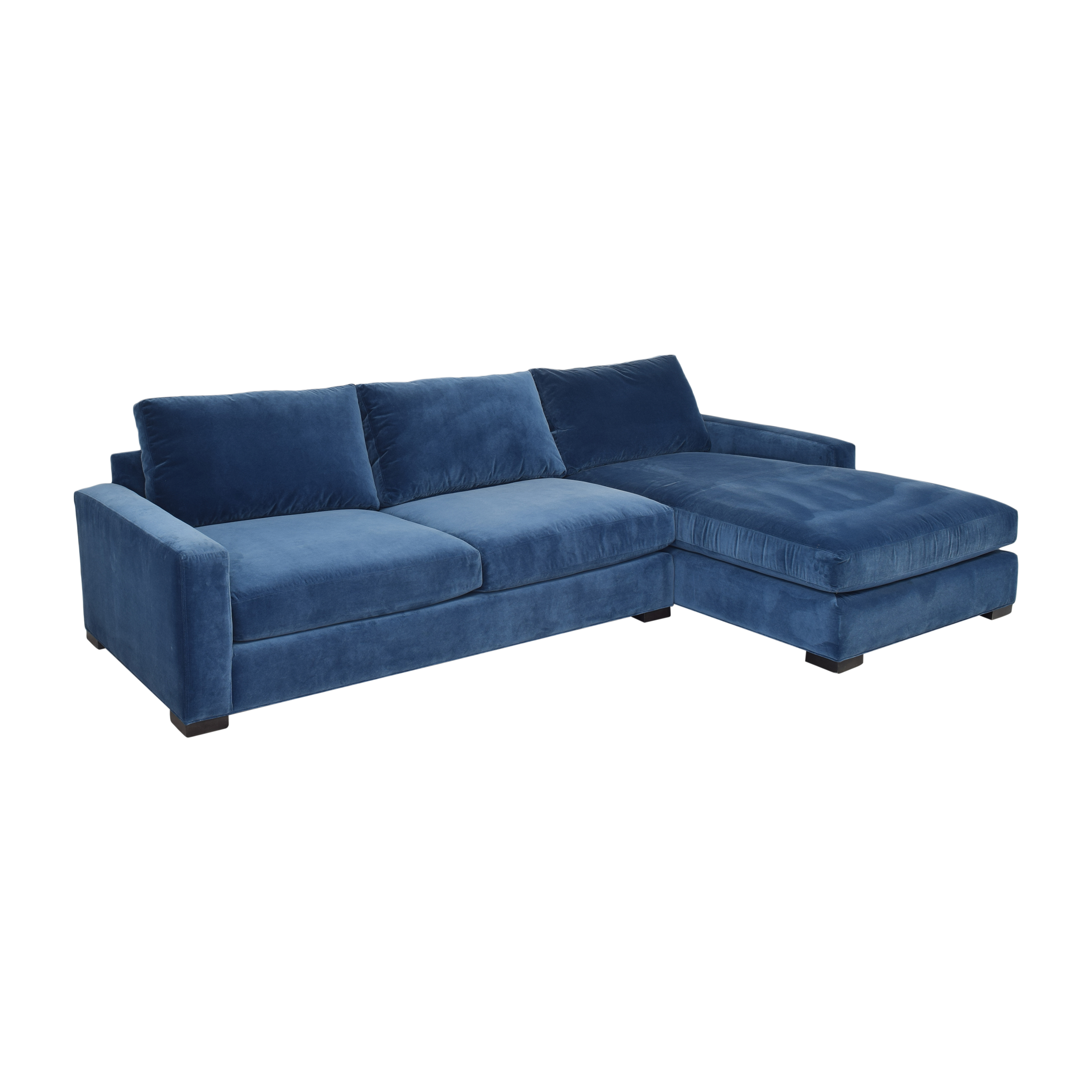shop Room & Board Metro Sectional Sofa with Chaise Room & Board Sofas