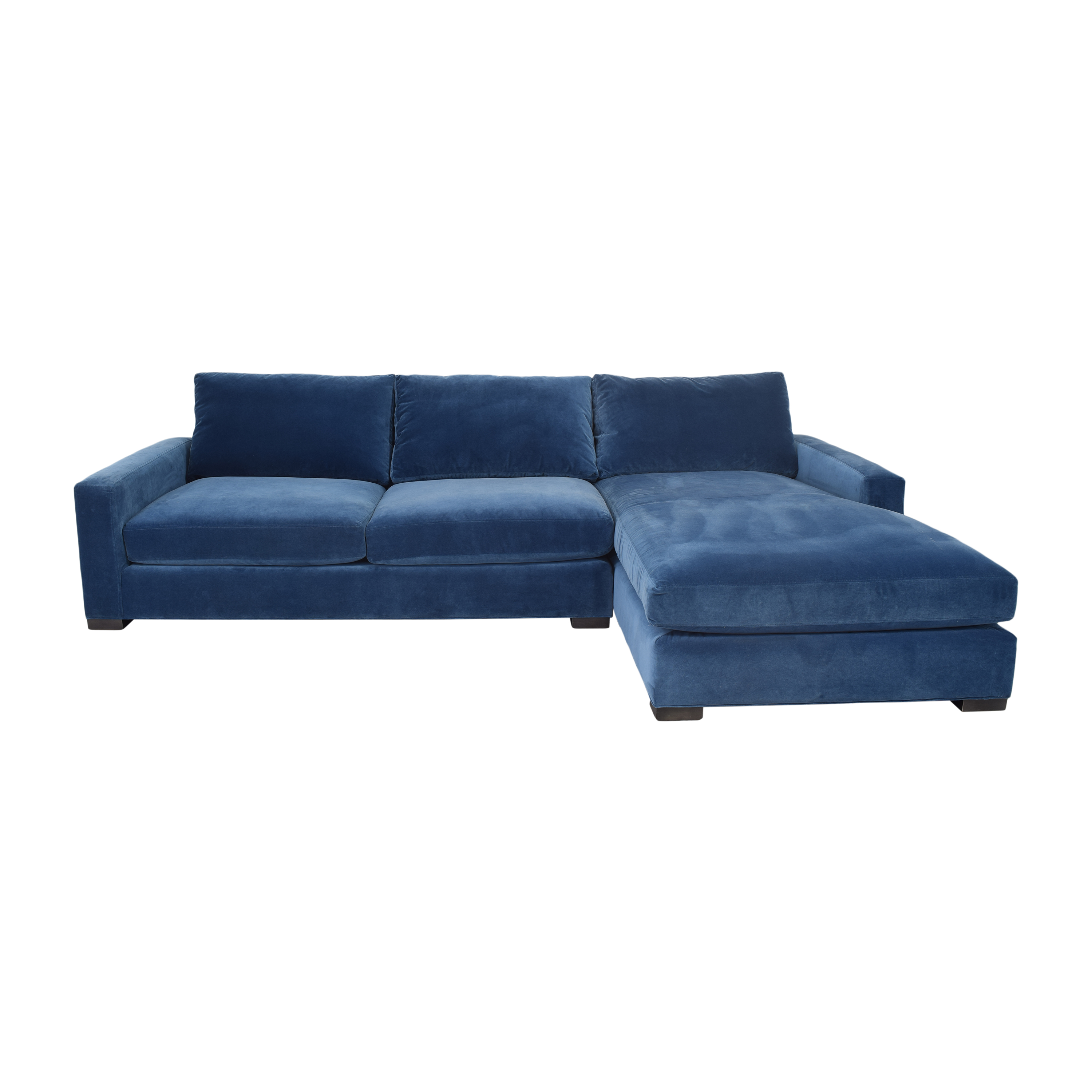 Room & Board Room & Board Metro Sectional Sofa with Chaise ct