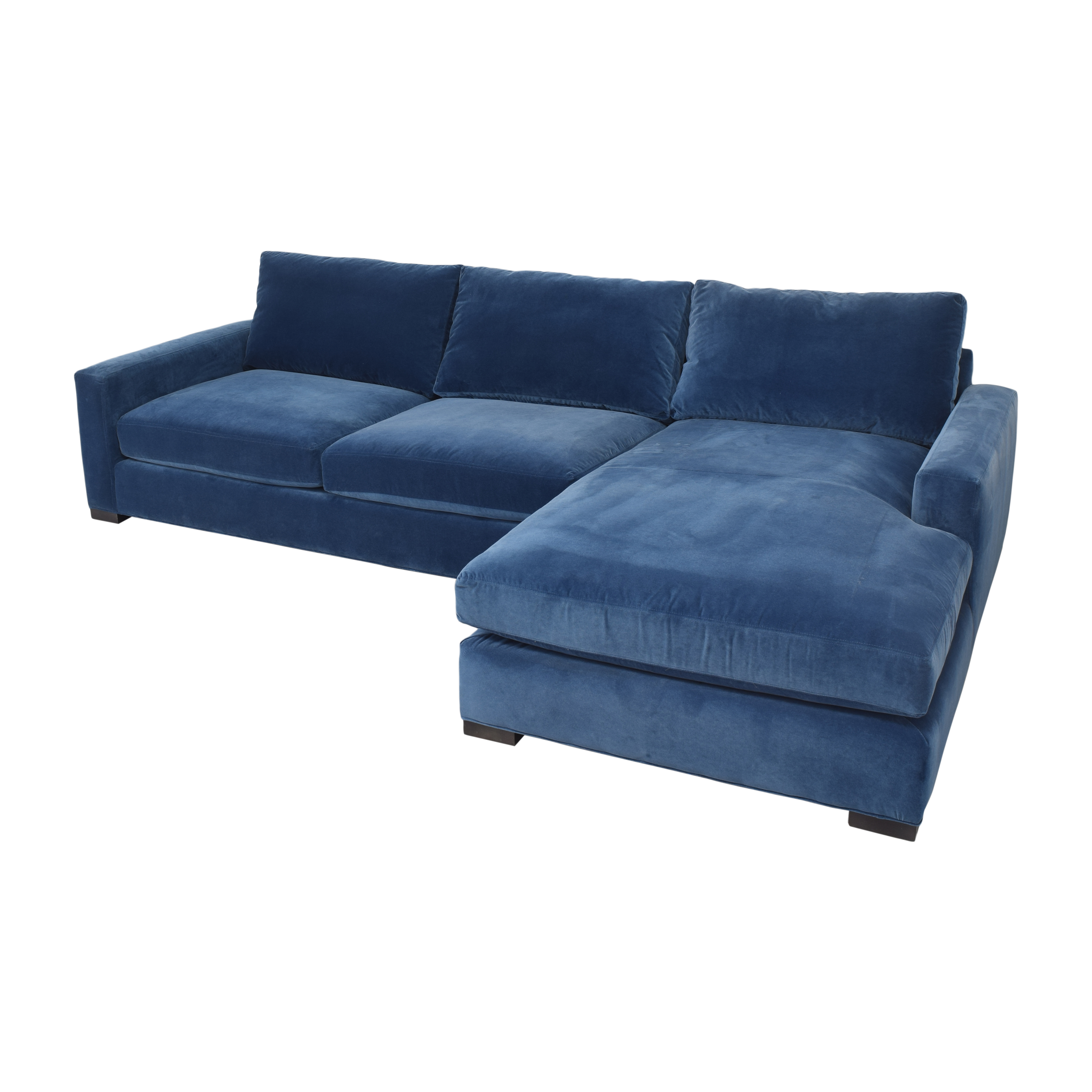 Room & Board Room & Board Metro Sectional Sofa with Chaise nyc