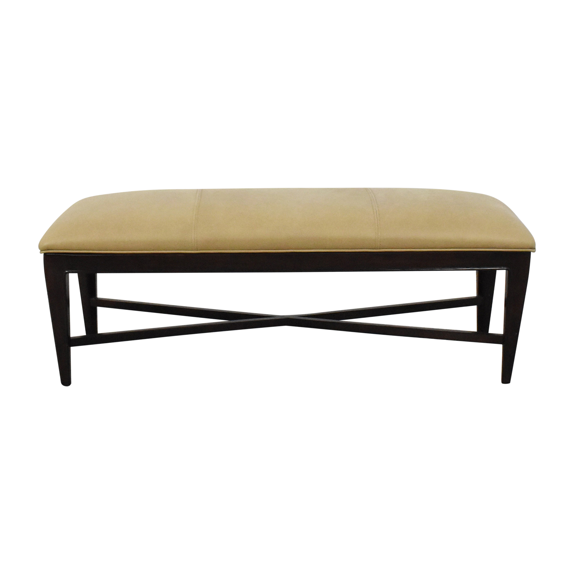 Thomasville Thomasville Upholstered Bench brown & tan