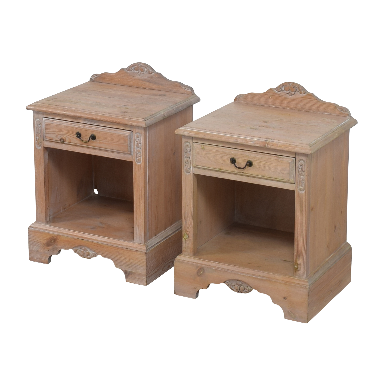 Jaycee Furniture Jaycee Single Drawer Nightstands