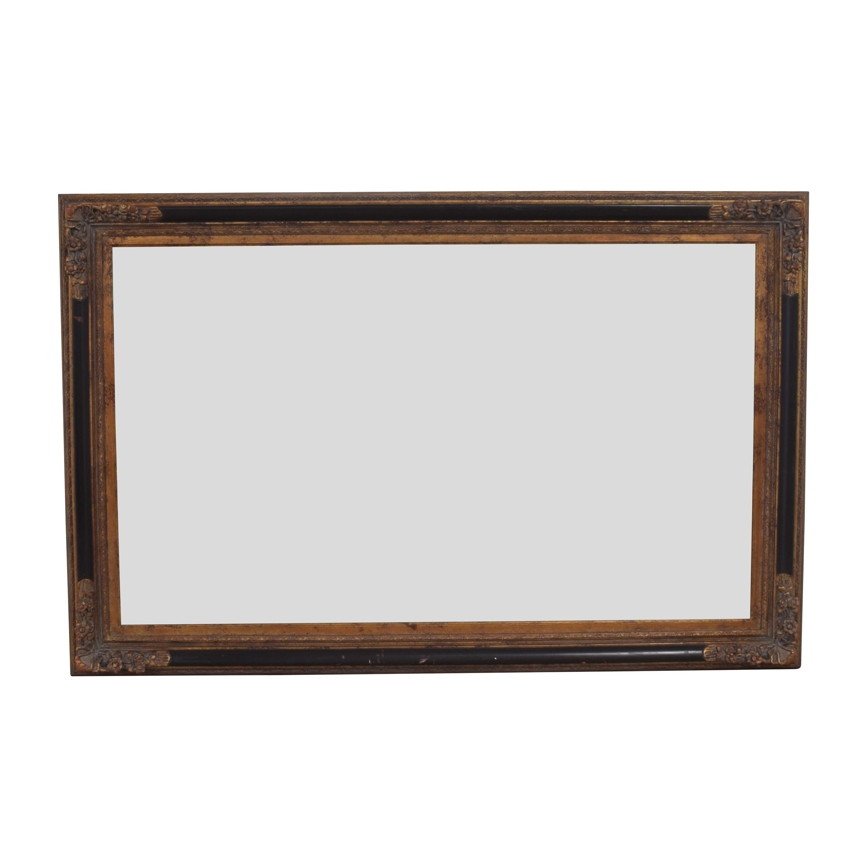 Large Decorative Framed Mirror sale