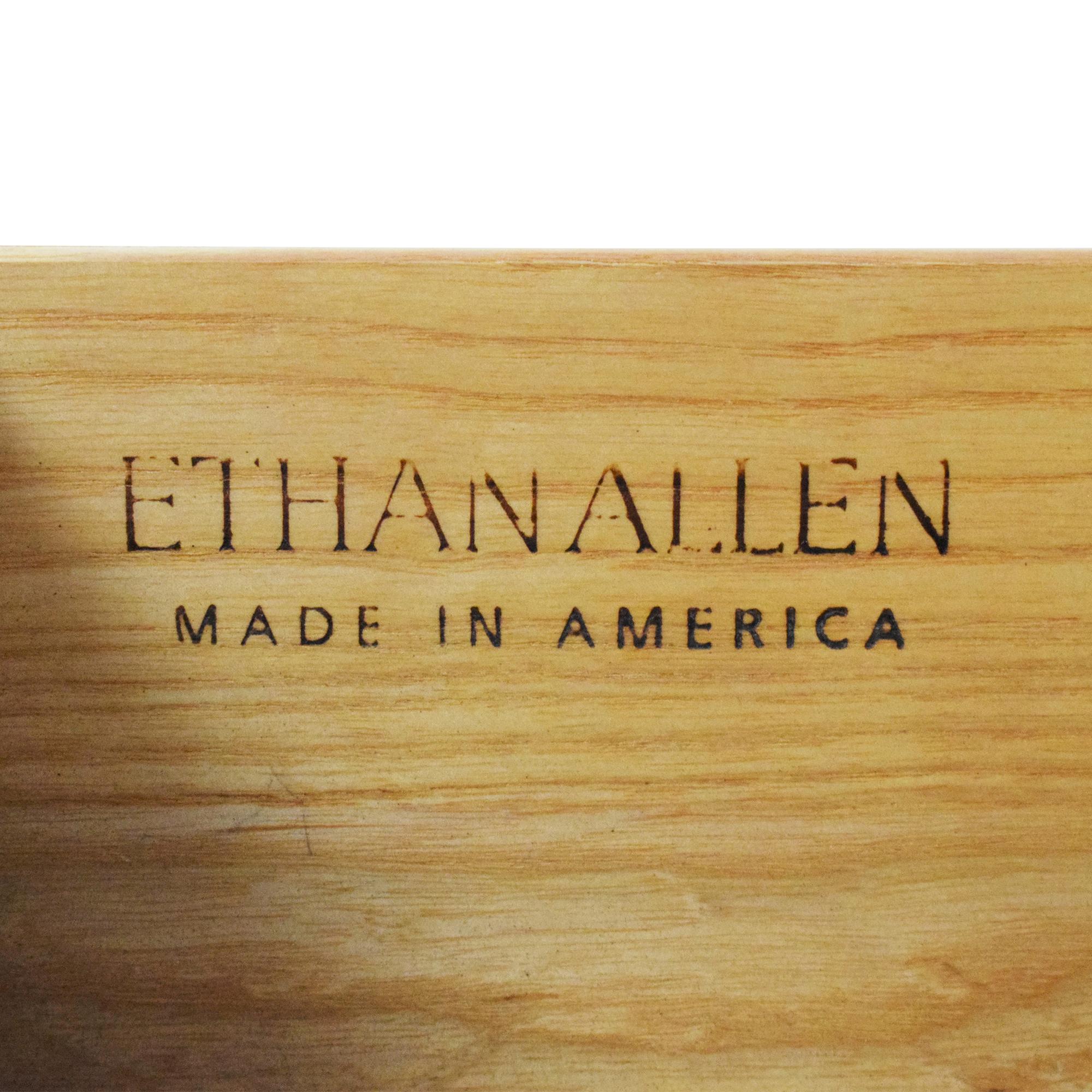 shop Ethan Allen 18th Century Collection Hepplewhite Sideboard Ethan Allen Storage