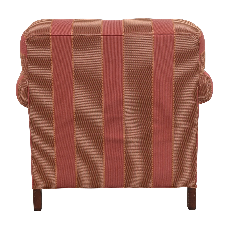 Grange Grange Striped Chair with Ottoman on sale