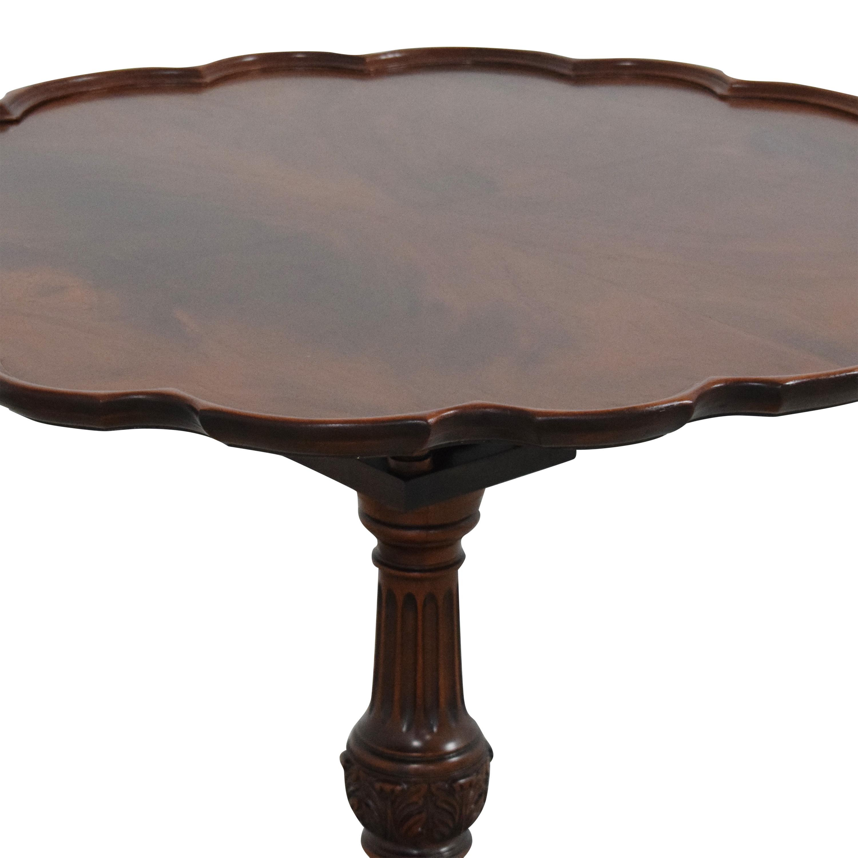 Pie Crust Tilt Top Table ma