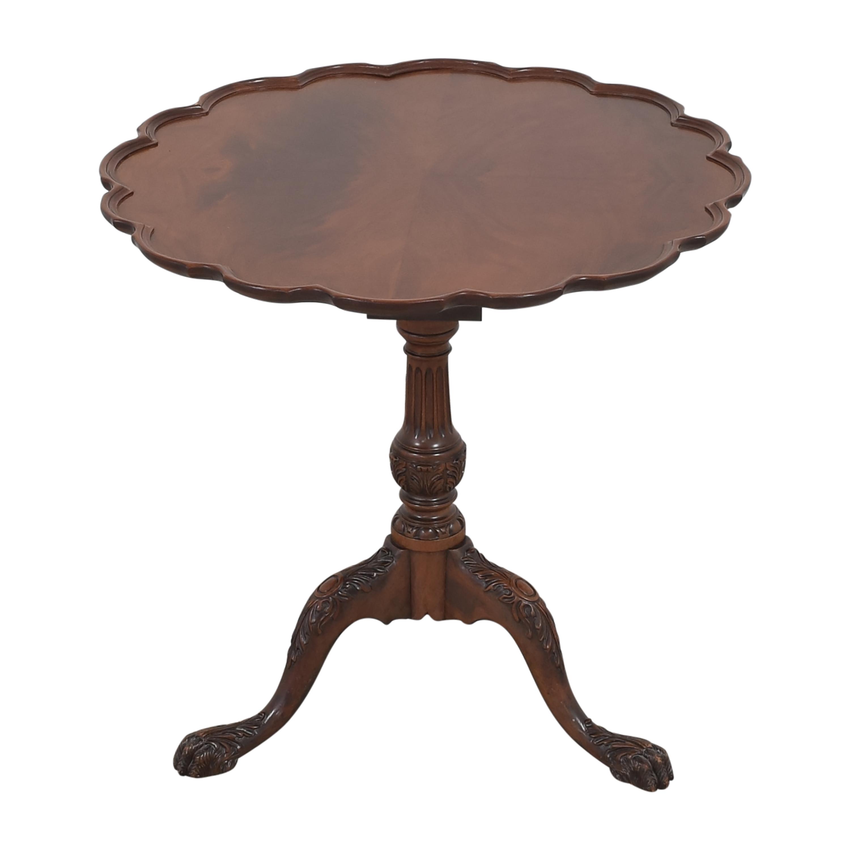 shop Pie Crust Tilt Top Table  Accent Tables