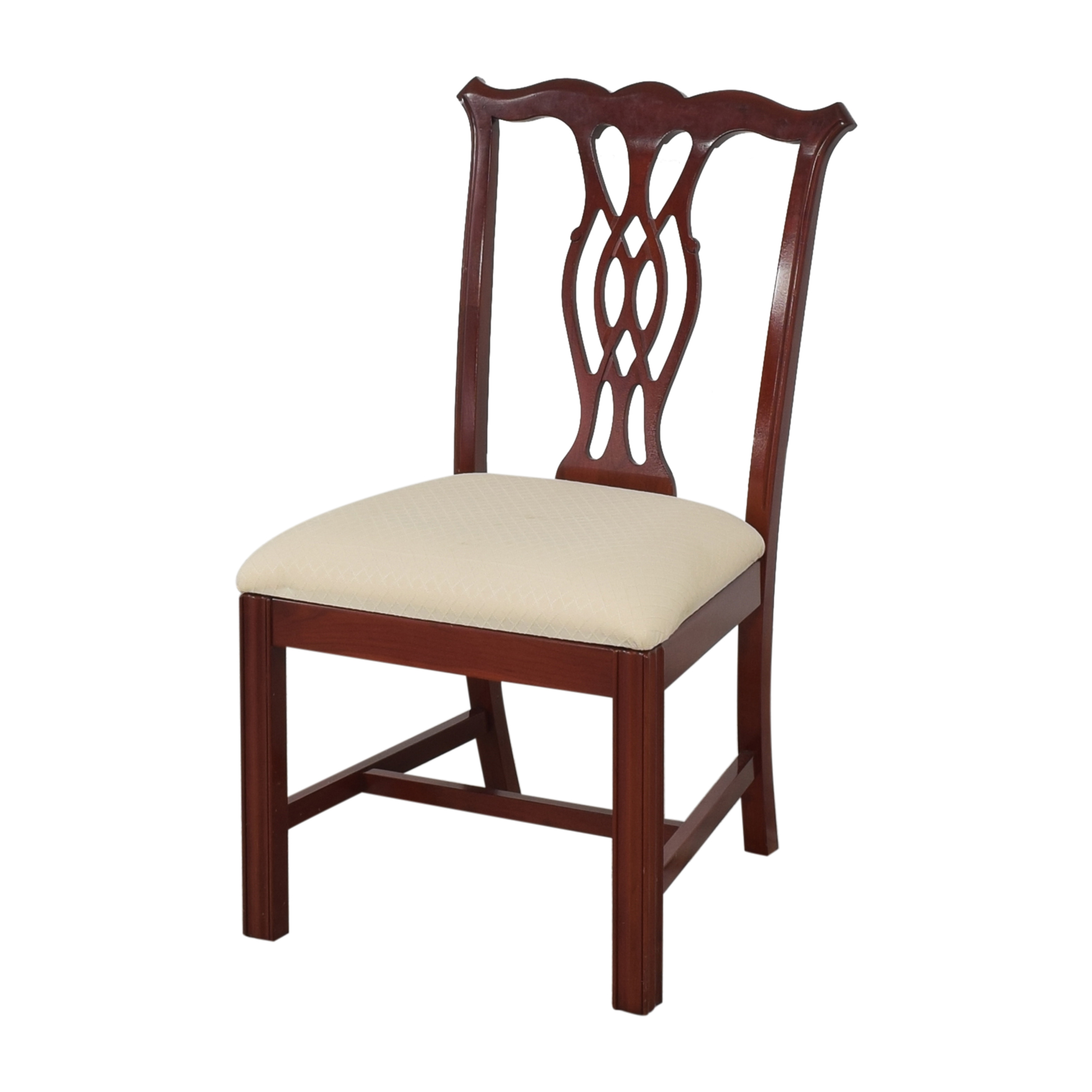 The Colonial Furniture Company The Colonial Furniture Company Chippendale-Style Dining Chairs used