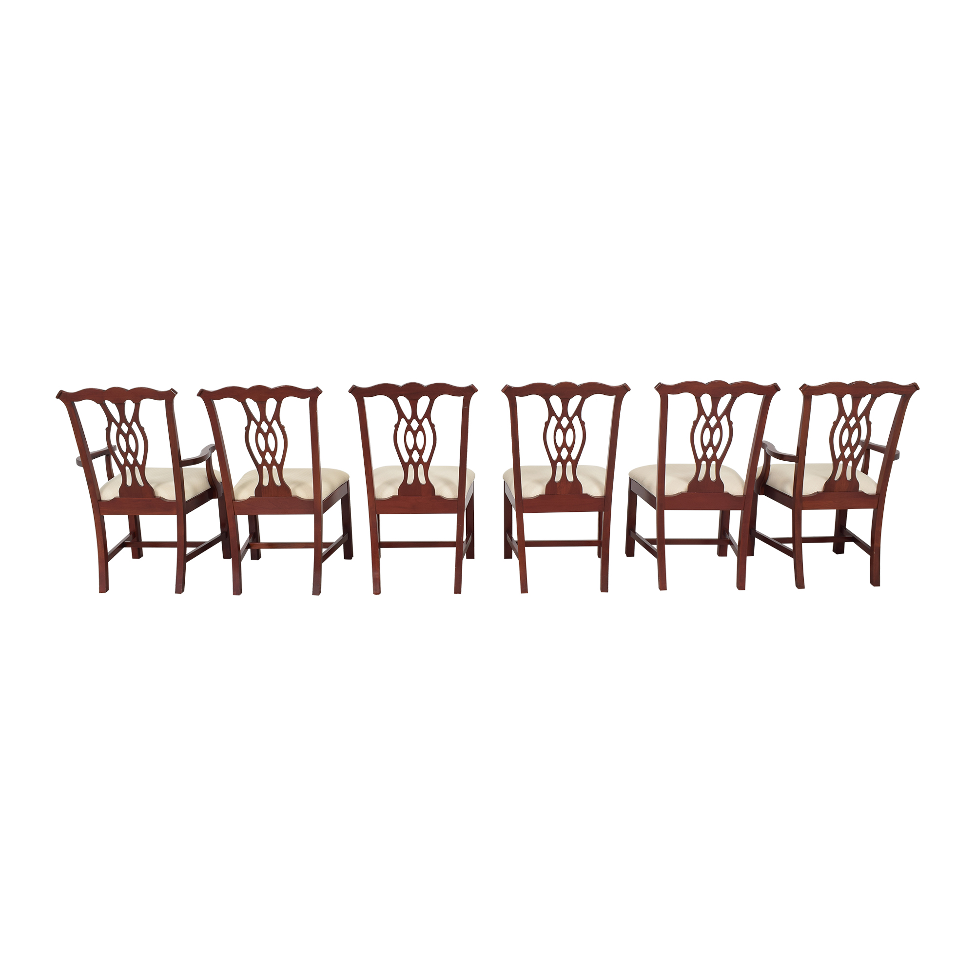 The Colonial Furniture Company The Colonial Furniture Company Chippendale-Style Dining Chairs Dining Chairs