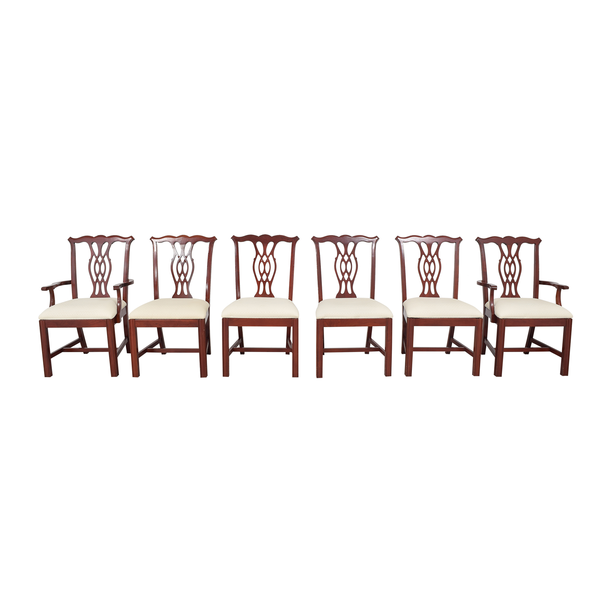 The Colonial Furniture Company The Colonial Furniture Company Chippendale-Style Dining Chairs discount