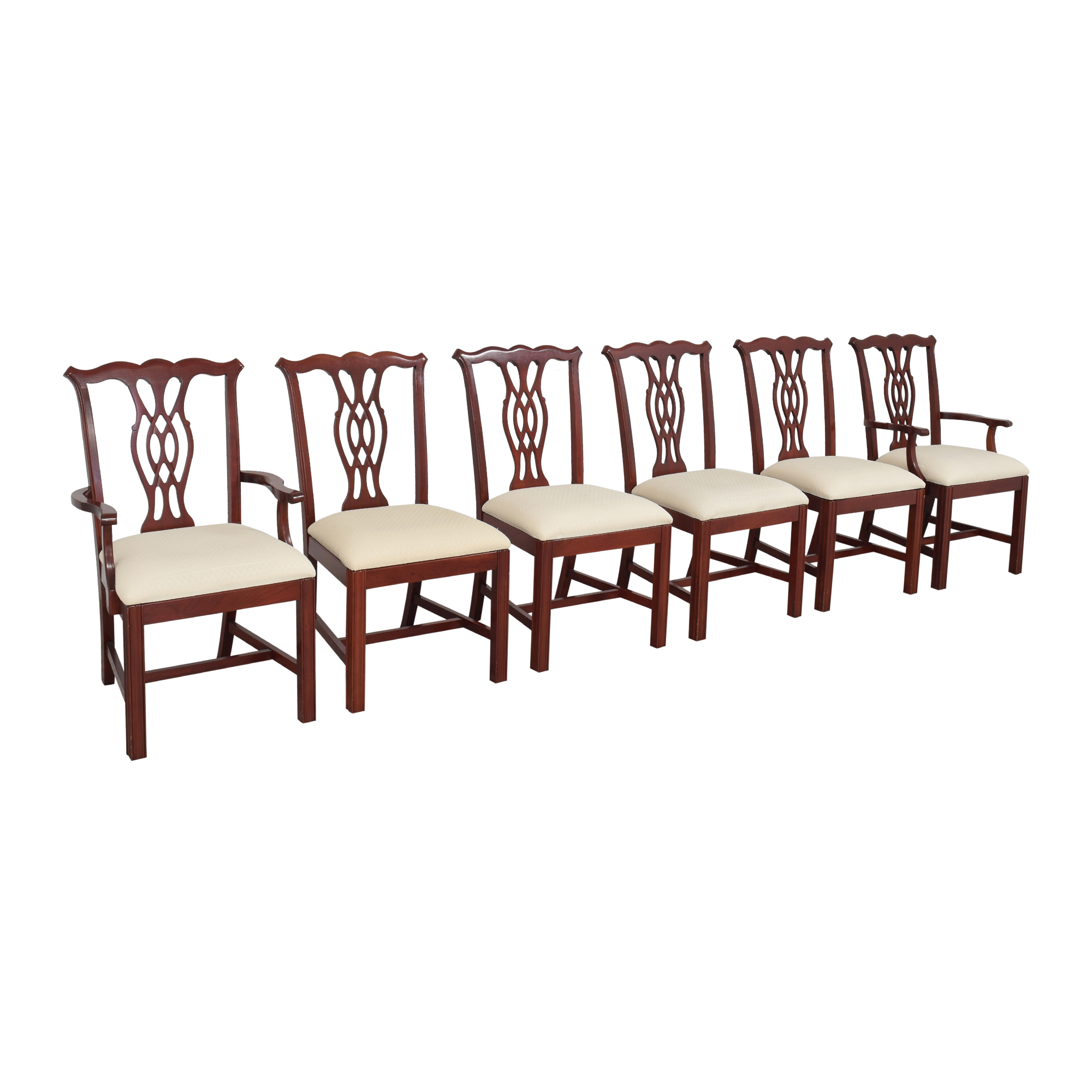 buy The Colonial Furniture Company The Colonial Furniture Company Chippendale-Style Dining Chairs online