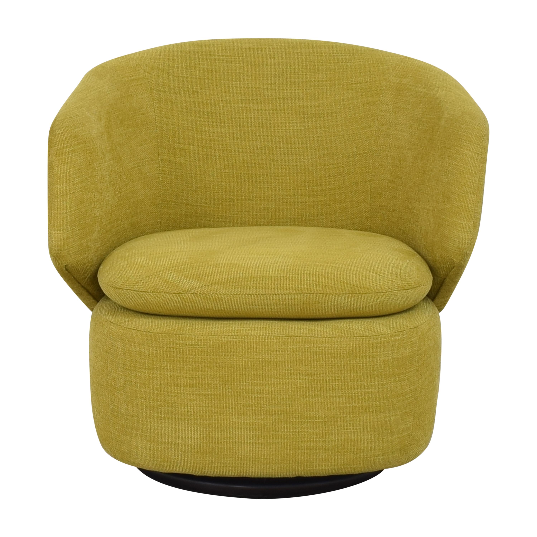 West Elm West Elm Crescent Swivel Chair price