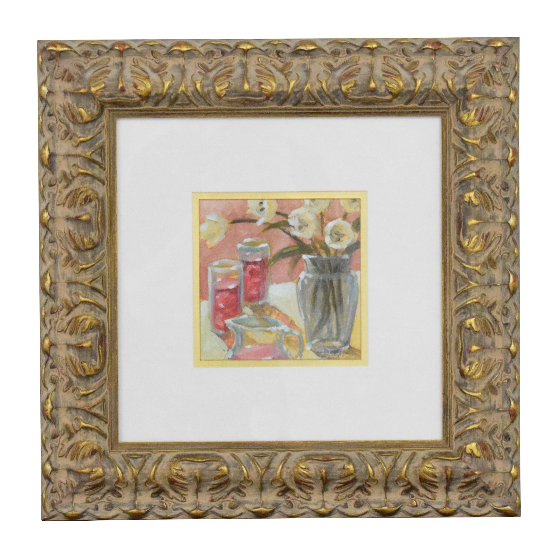 buy Ethan Allen Ethan Allen Flowers Wall Art online