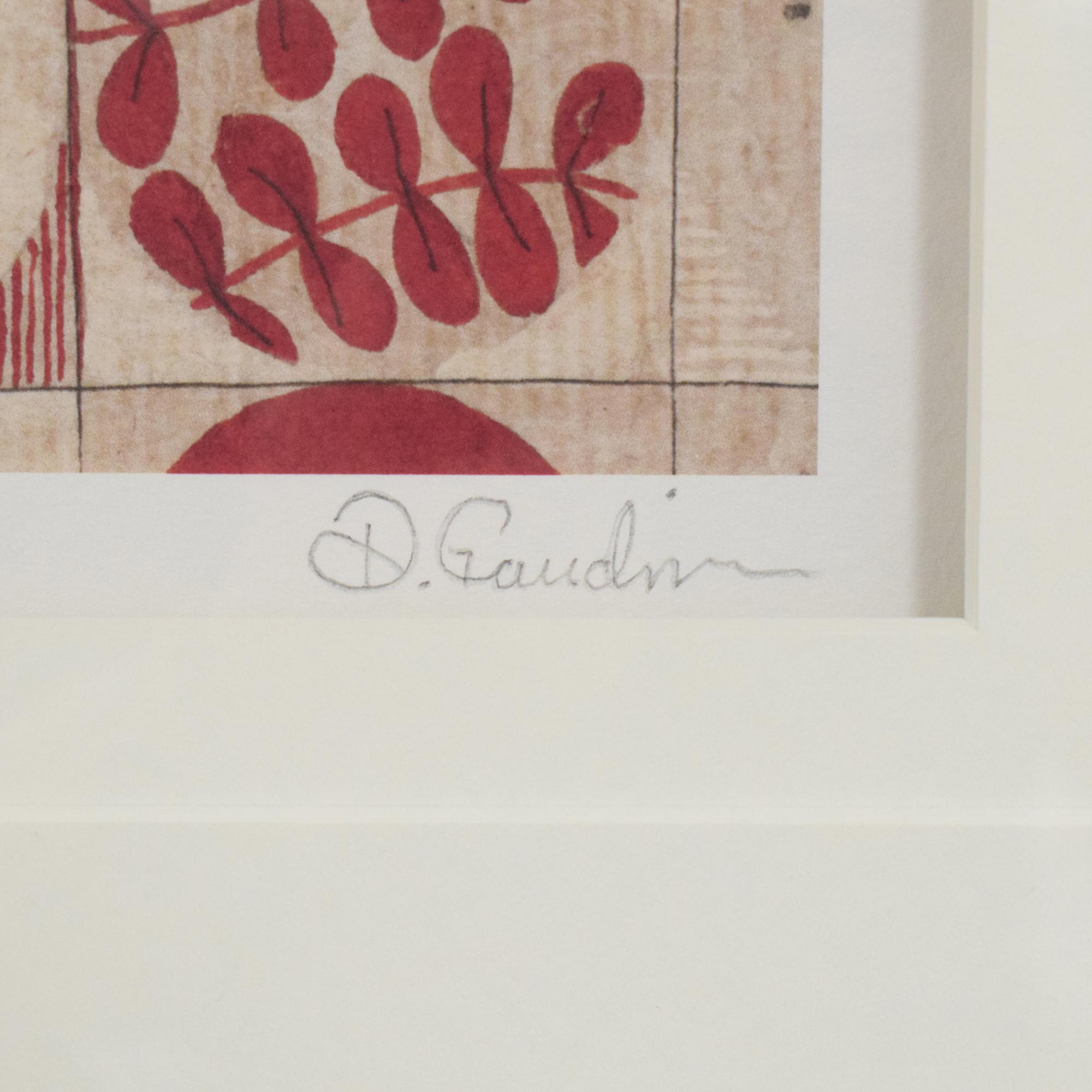 Ethan Allen Ethan Allen Cinnabar Blossoms Wall Art pa