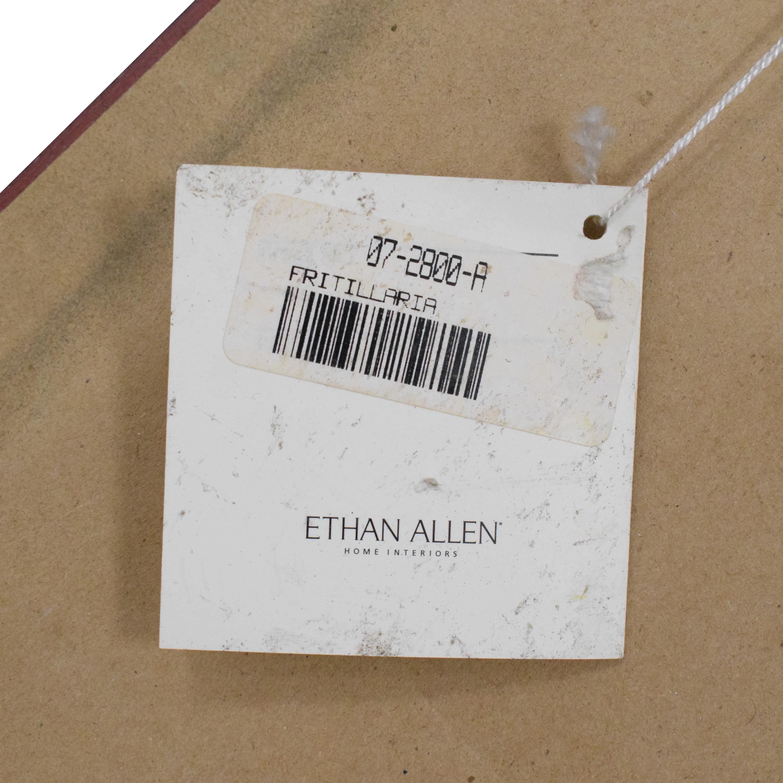 Ethan Allen Ethan Allen Fritillaria Wall Art ct