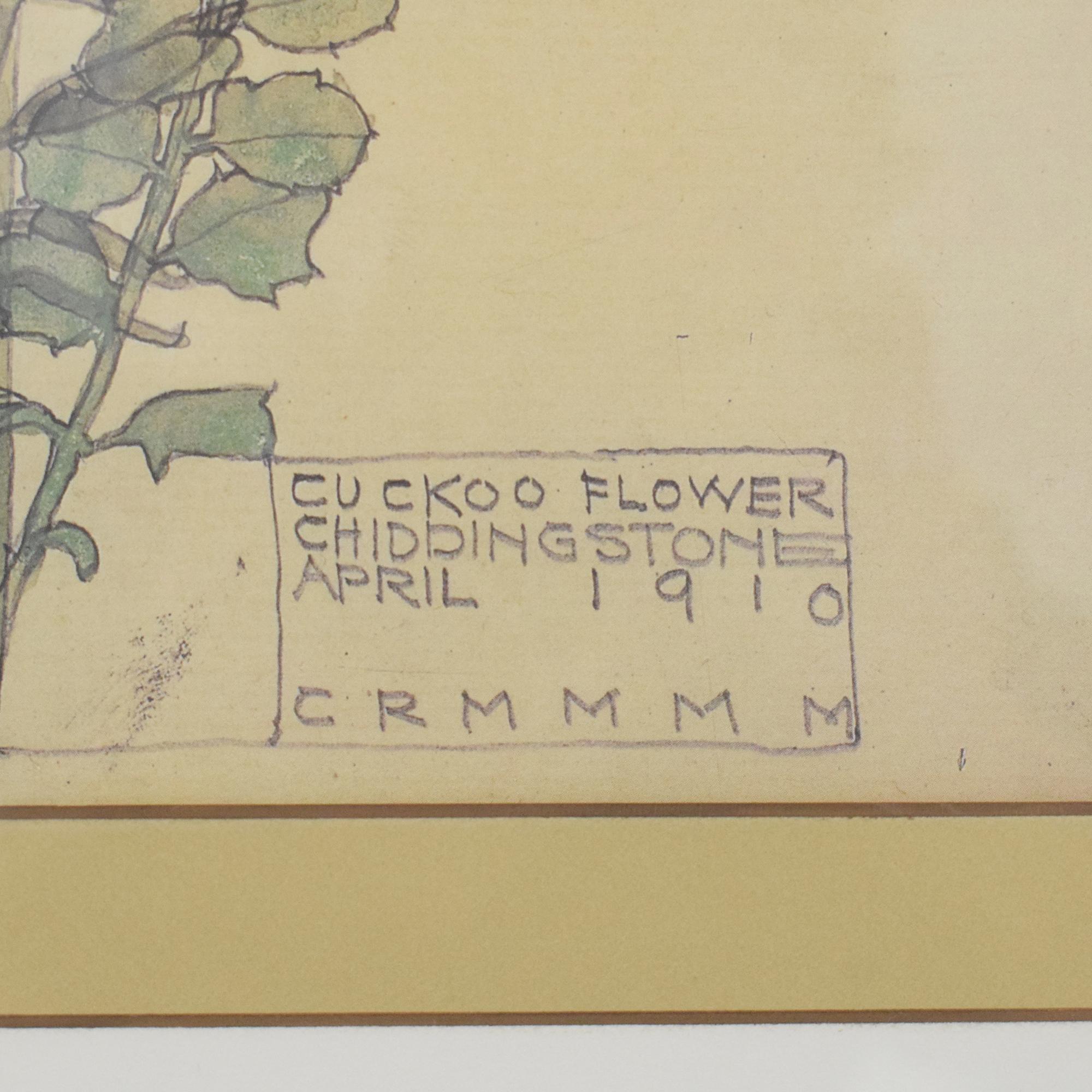 Ethan Allen Ethan Allen Cuckoo Flower Wall Art ma