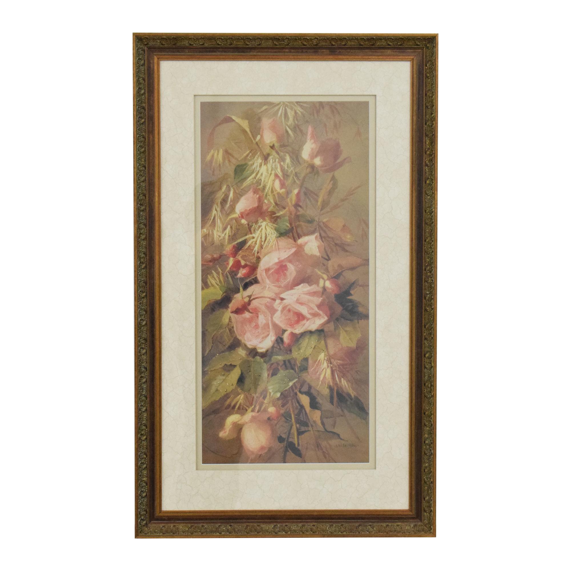 Ethan Allen Ethan Allen Roses Wall Art Decor