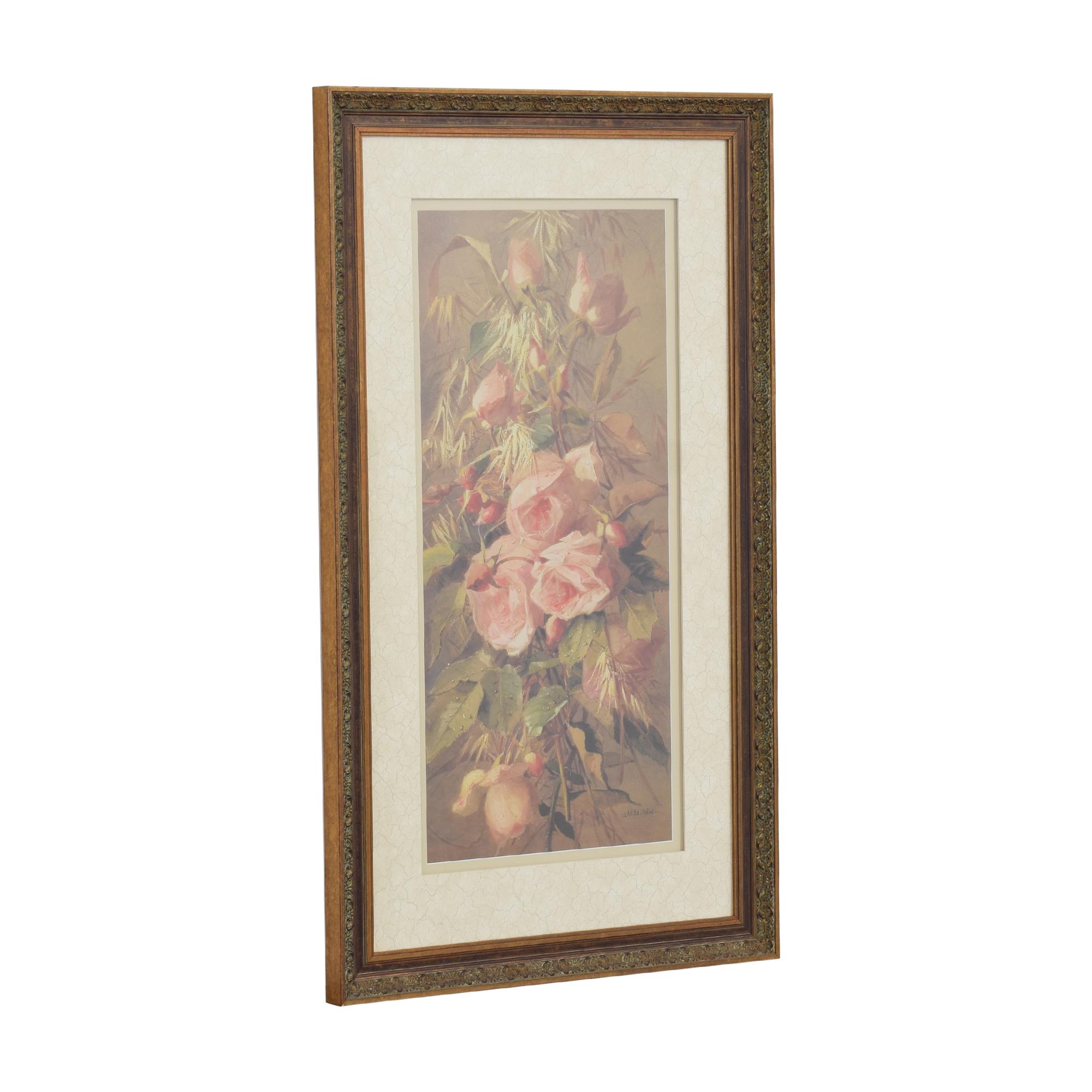 shop Ethan Allen Ethan Allen Roses Wall Art online