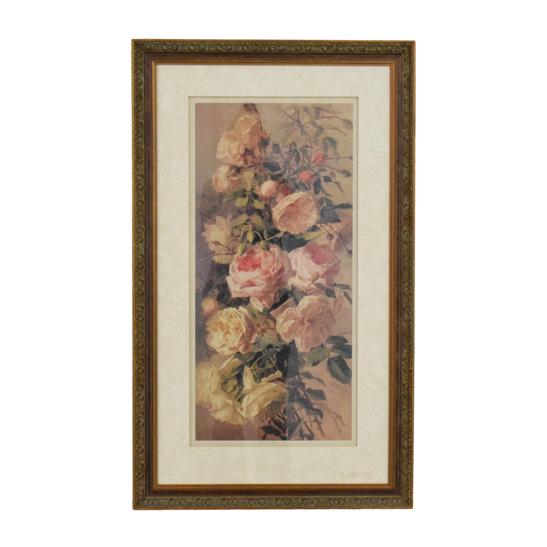 Ethan Allen Ethan Allen Roses Wall Art pa