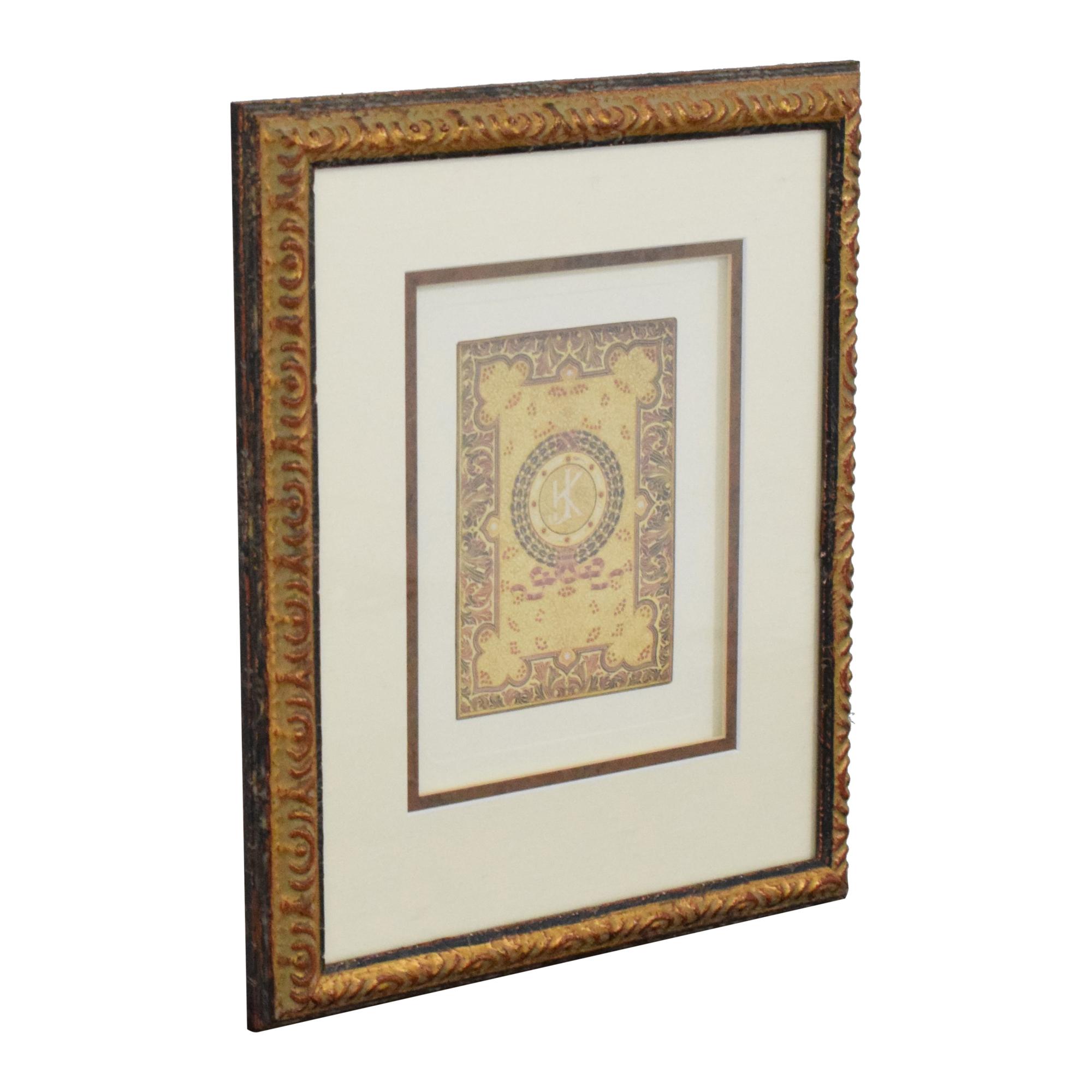 buy Ethan Allen Ethan Allen Jeweled Boxes Wall Art online