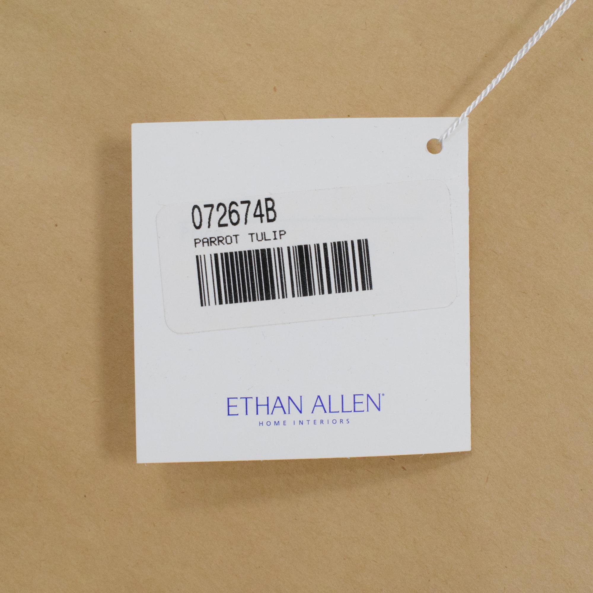 Ethan Allen Ethan Allen Parrot Tulip Wall Art second hand