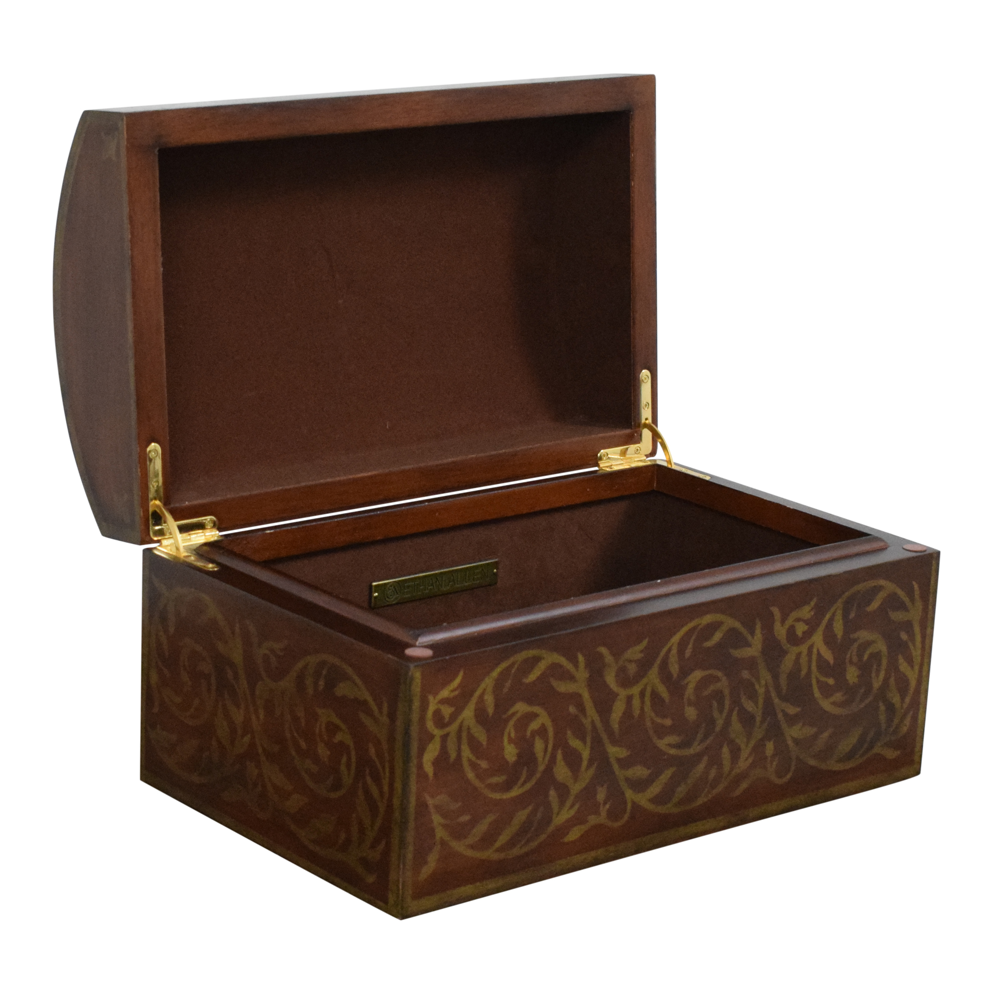 Ethan Allen Dome Top Jewelry Box Ethan Allen