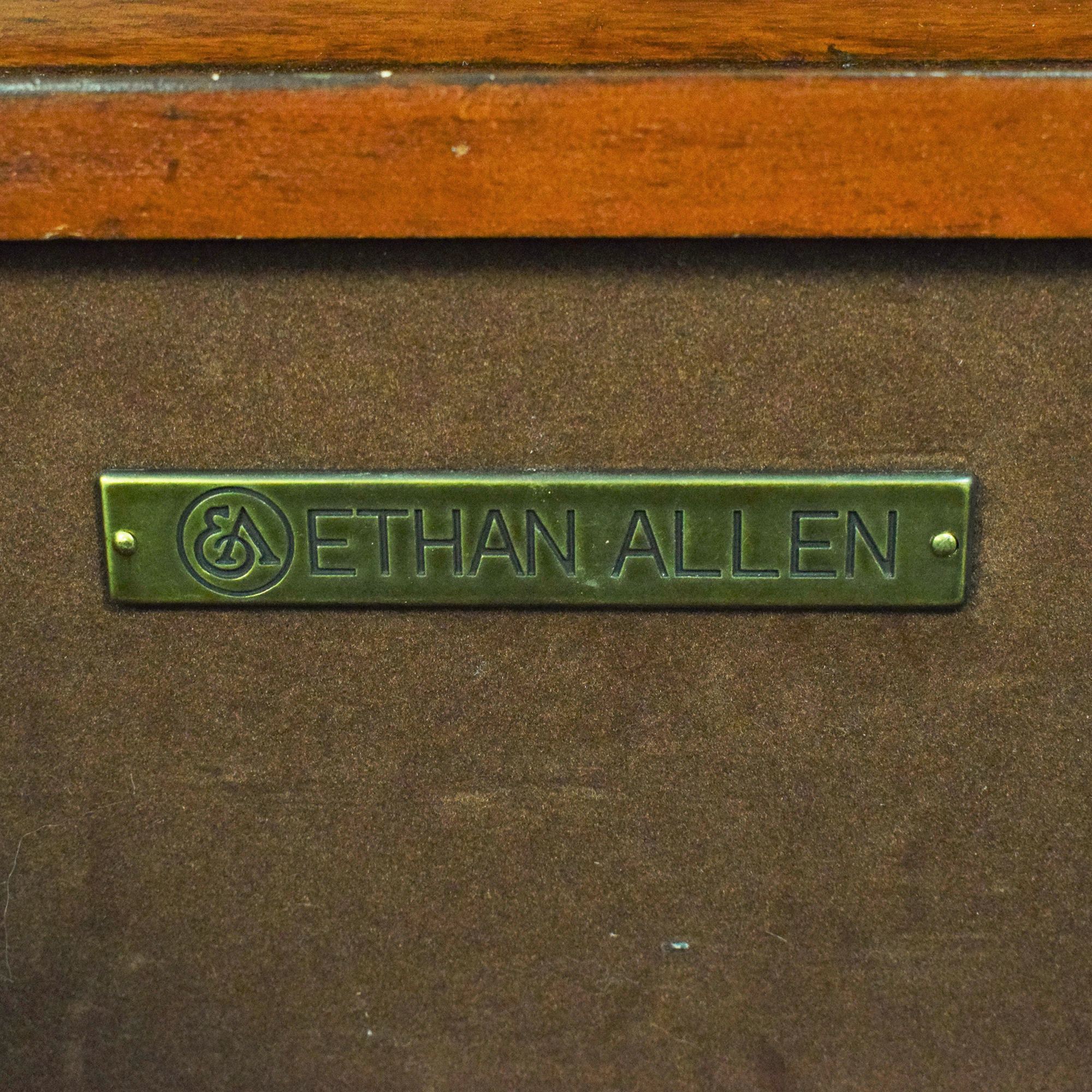 Ethan Allen Dome Top Jewelry Box / Decor