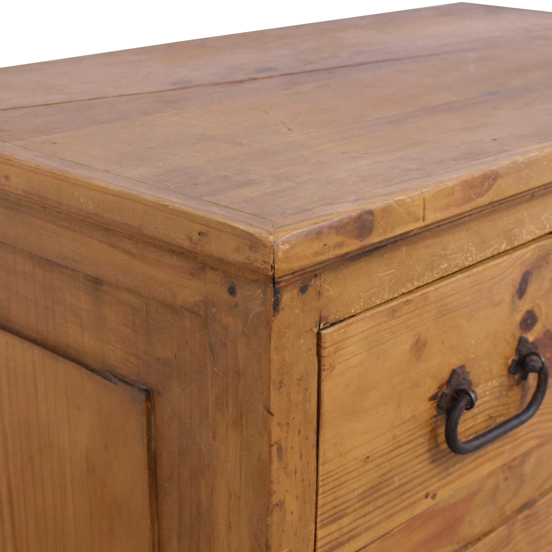 Rustic Five Drawer Dresser brown