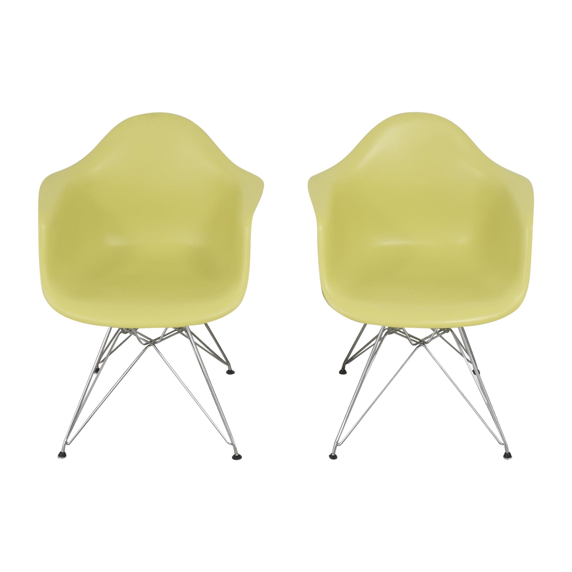 Herman Miller Herman Miller Eames Molded Armchairs dimensions