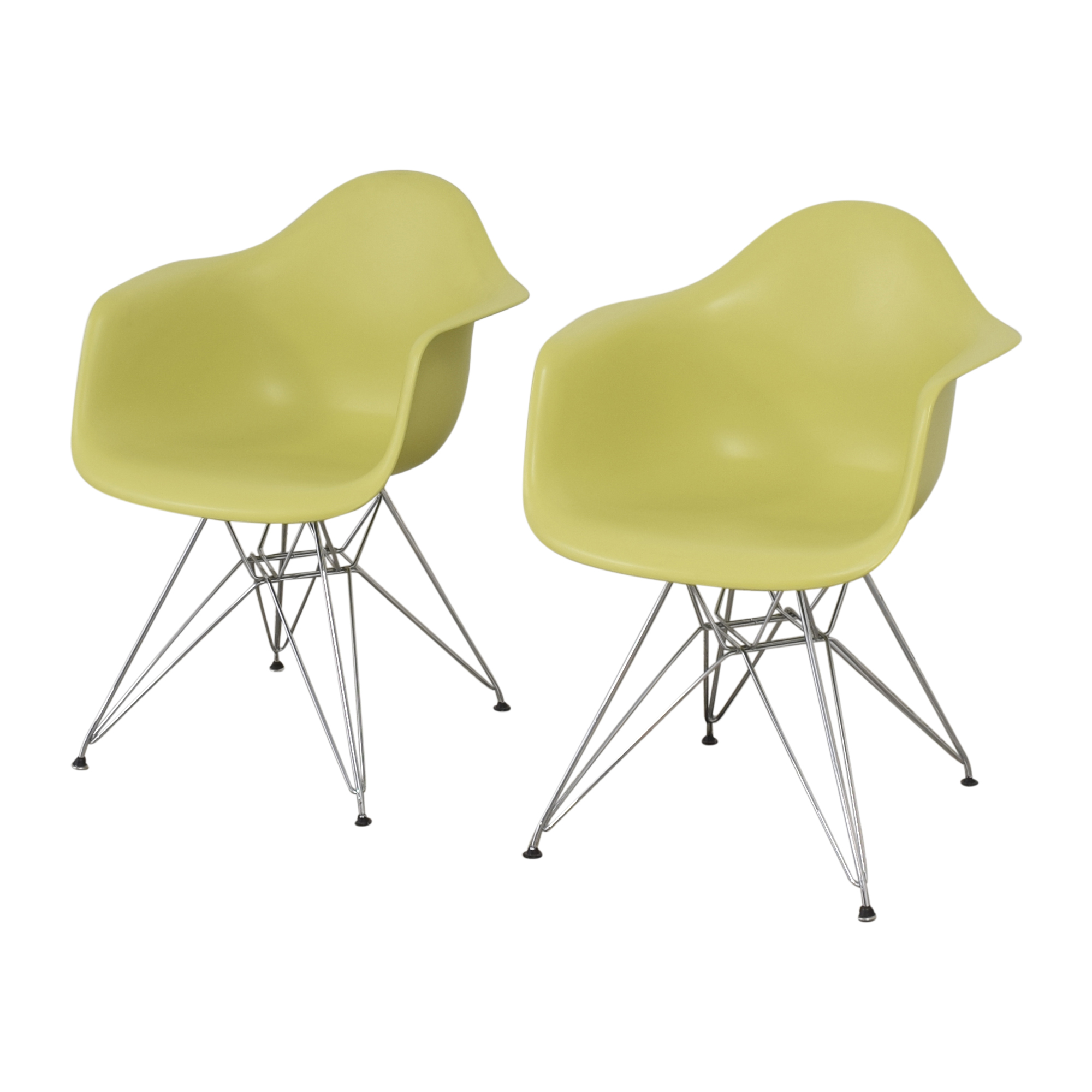 shop Herman Miller Eames Molded Armchairs Herman Miller Dining Chairs