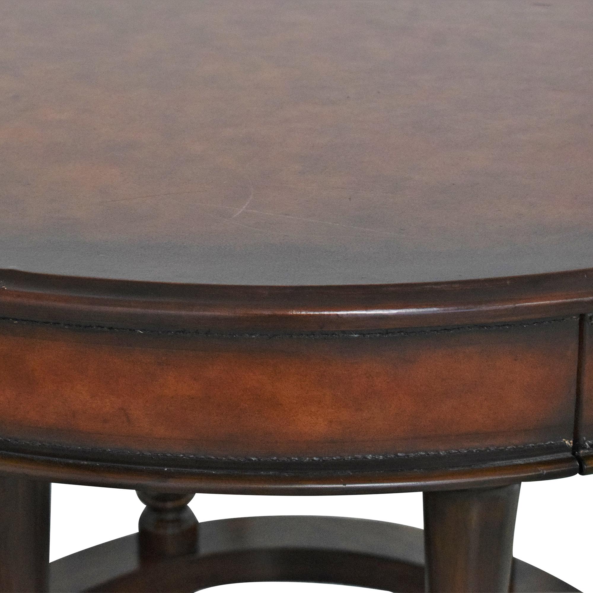 Ralph Lauren Home Ralph Lauren Round Accent Table used