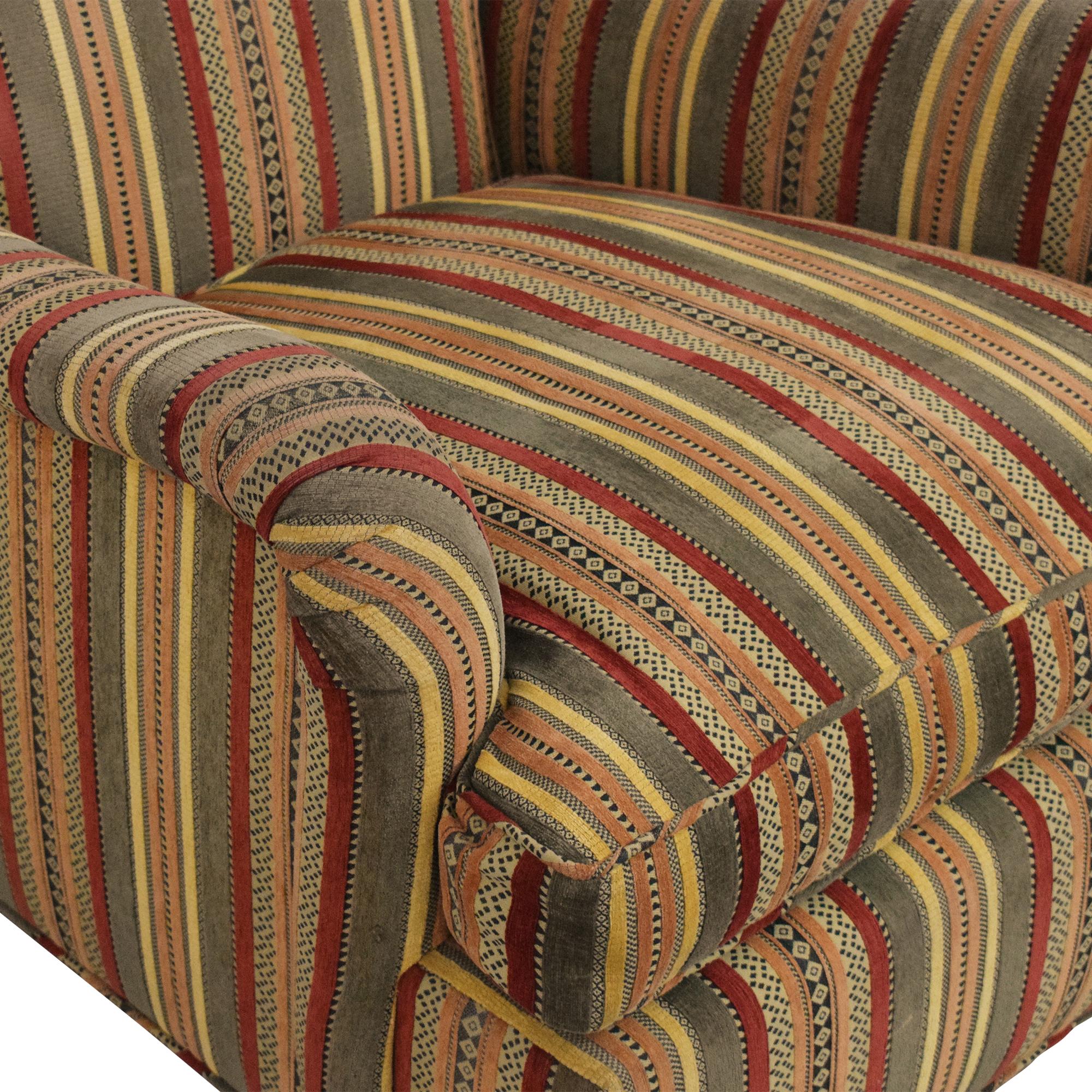 Scroll Back Bridgewater Arm Chair multi