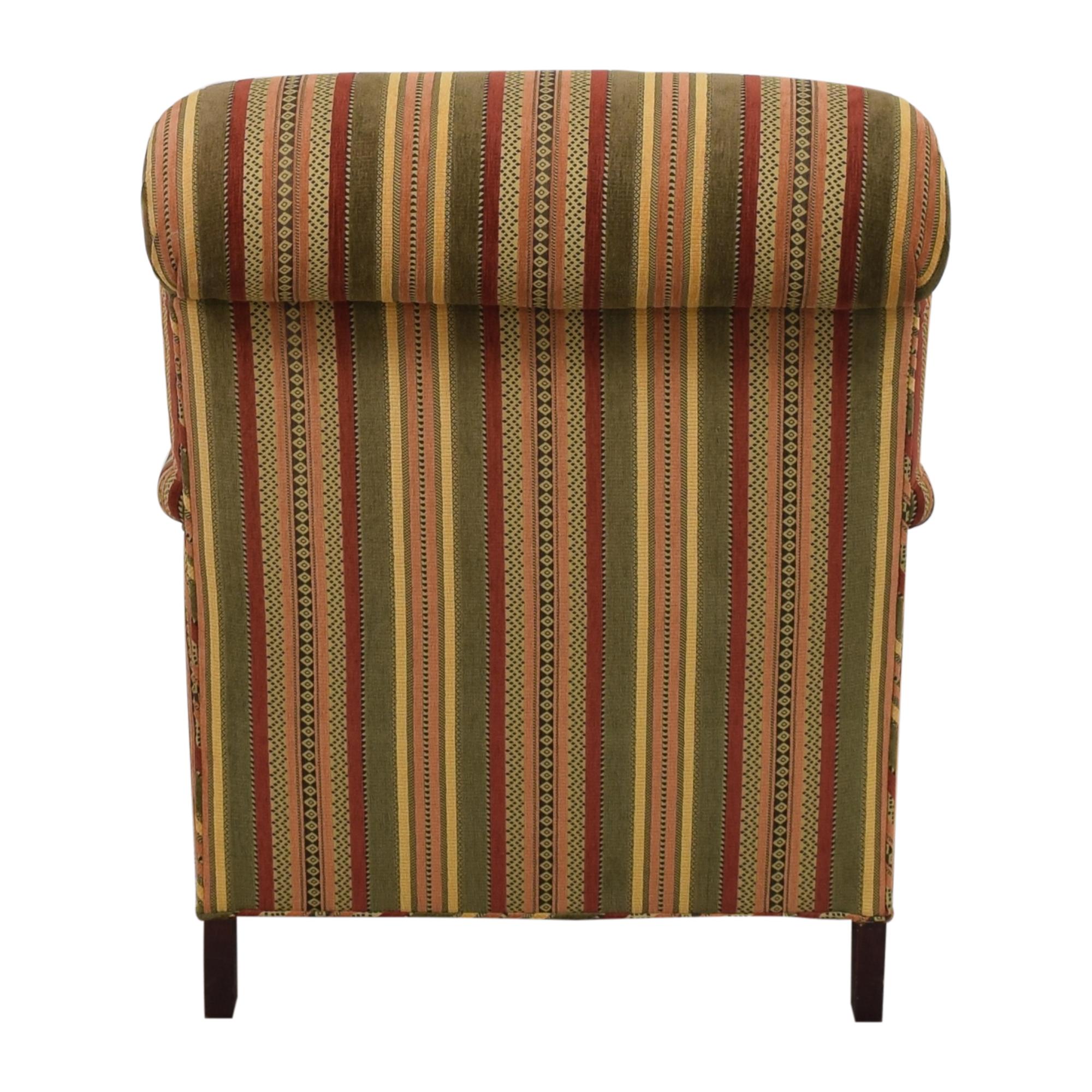 Scroll Back Bridgewater Arm Chair used