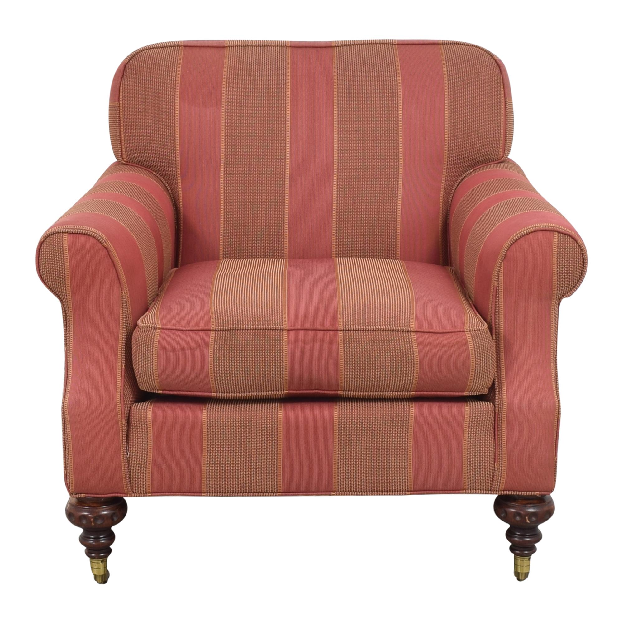 shop Grange Grange Striped Chair with Ottoman online