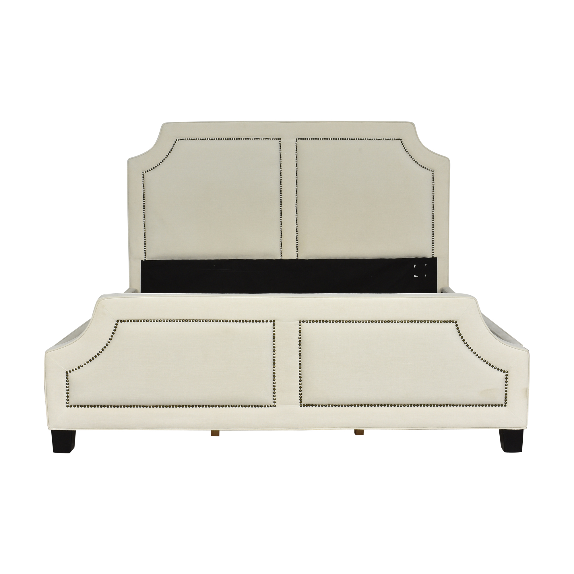 Coaster Fine Furniture Coaster Fine Furniture Upholstered Nailhead Trim King Bed Beds