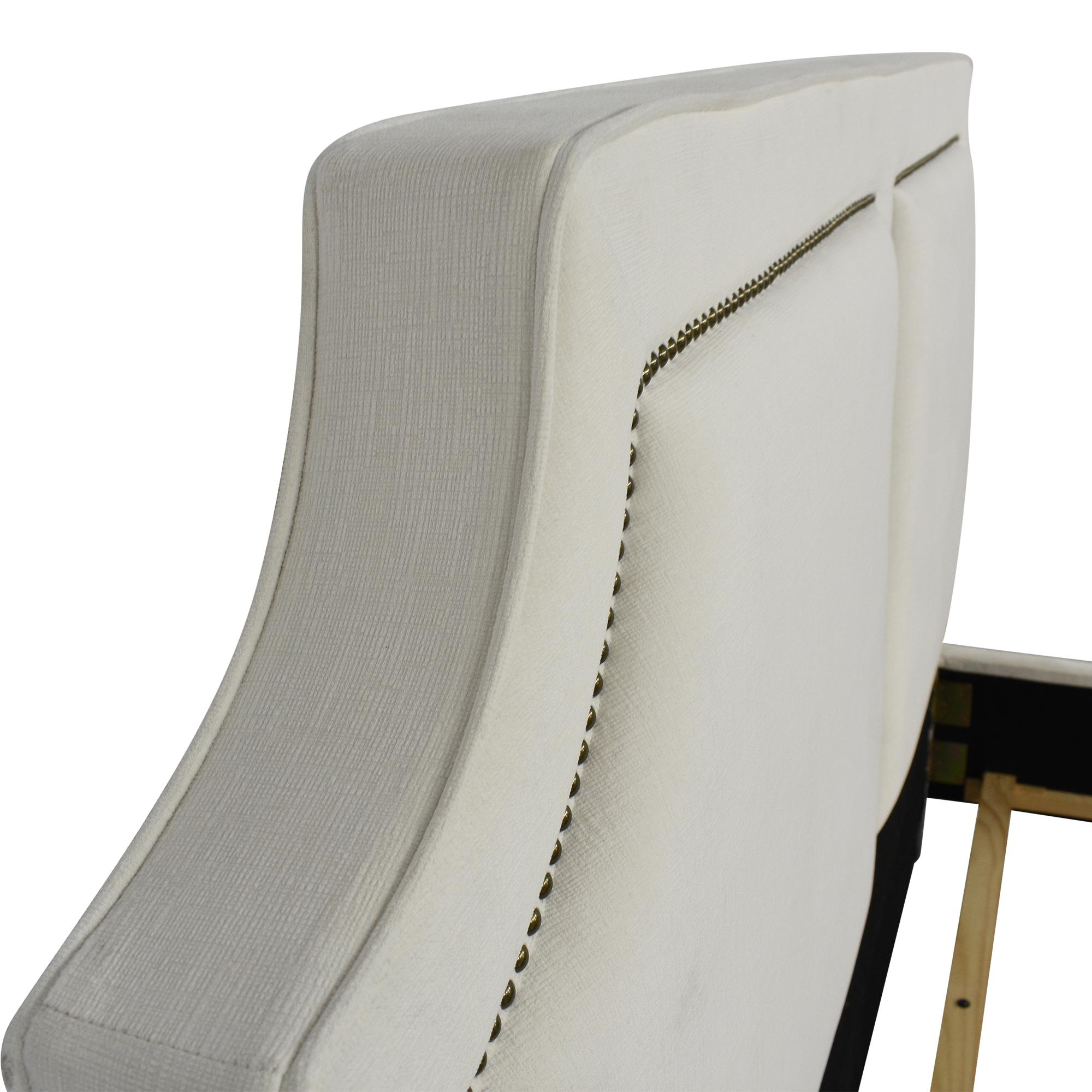 shop Coaster Fine Furniture Upholstered Nailhead Trim King Bed Coaster Fine Furniture Bed Frames